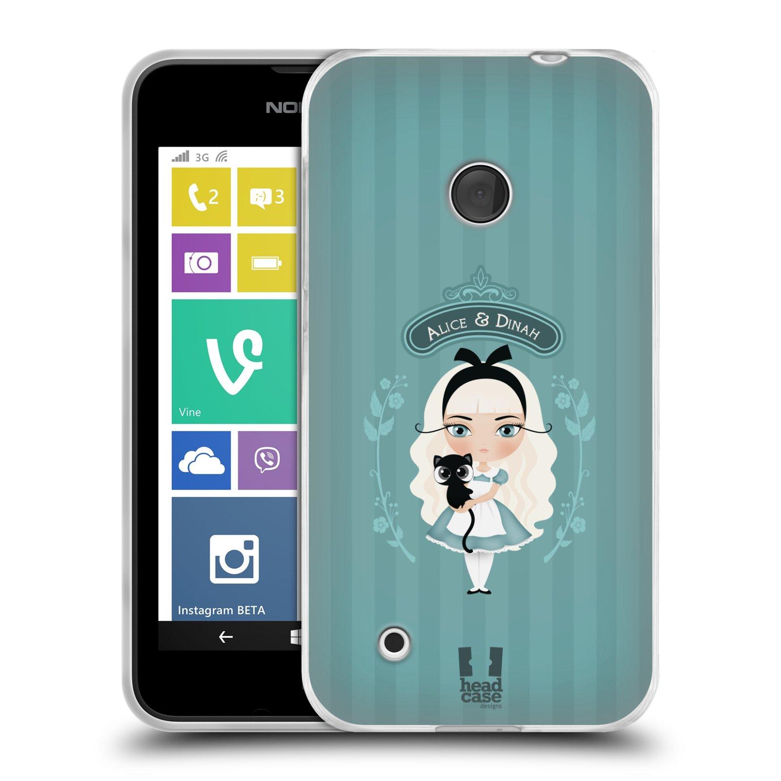 ... au pays des merveilles Housse Gel Silicone pour Nokia Lumia 530 : eBay