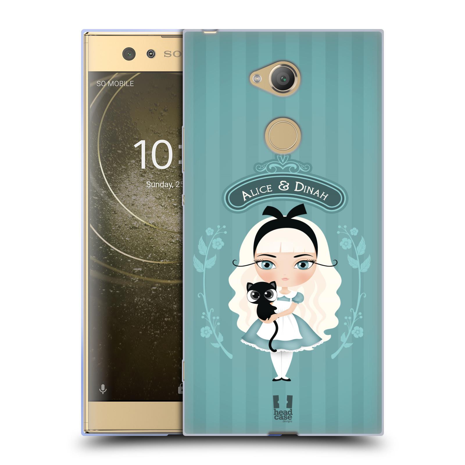 Pouzdro na mobil Sony Xperia XA2 Ultra vzor Alenka v říši divů Alenka