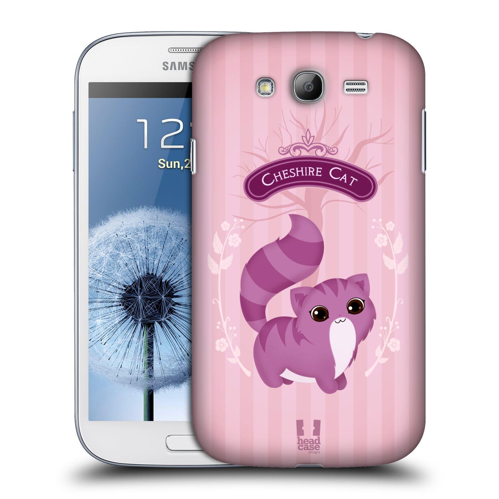 HEAD CASE plastový obal na mobil SAMSUNG GALAXY Grand i9080 vzor Alenka v říši divů kočička
