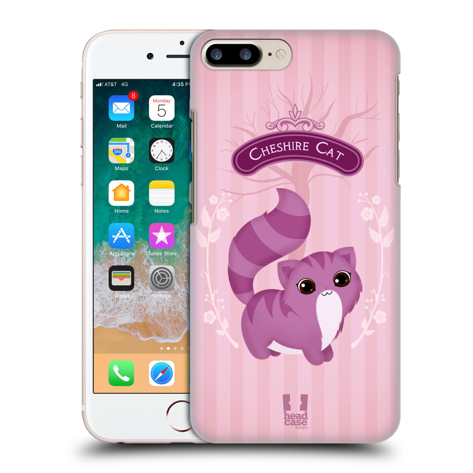 HEAD CASE plastový obal na mobil Apple Iphone 7 PLUS vzor Alenka v říši divů kočička