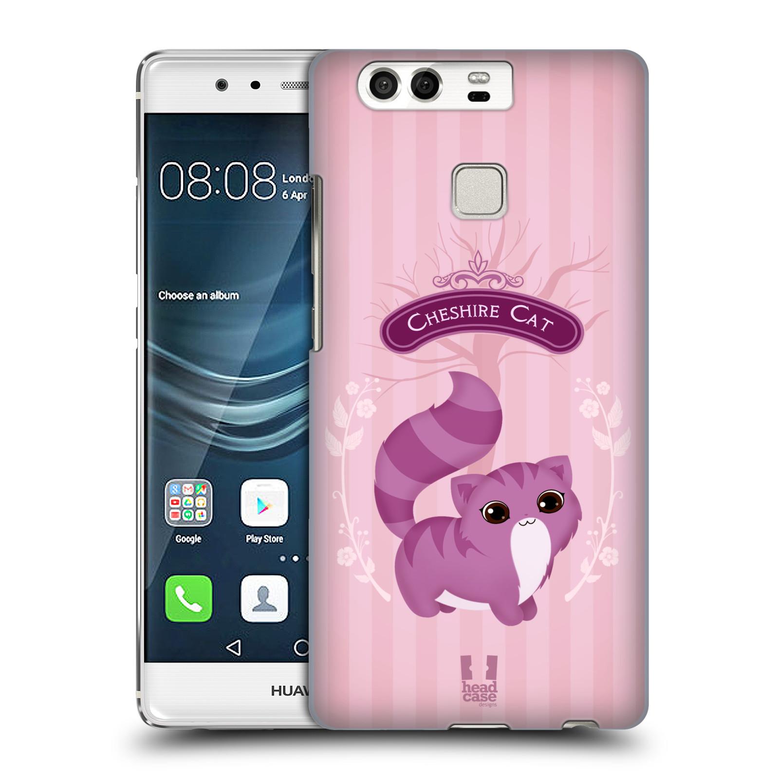 HEAD CASE plastový obal na mobil Huawei P9 / P9 DUAL SIM vzor Alenka v říši divů kočička