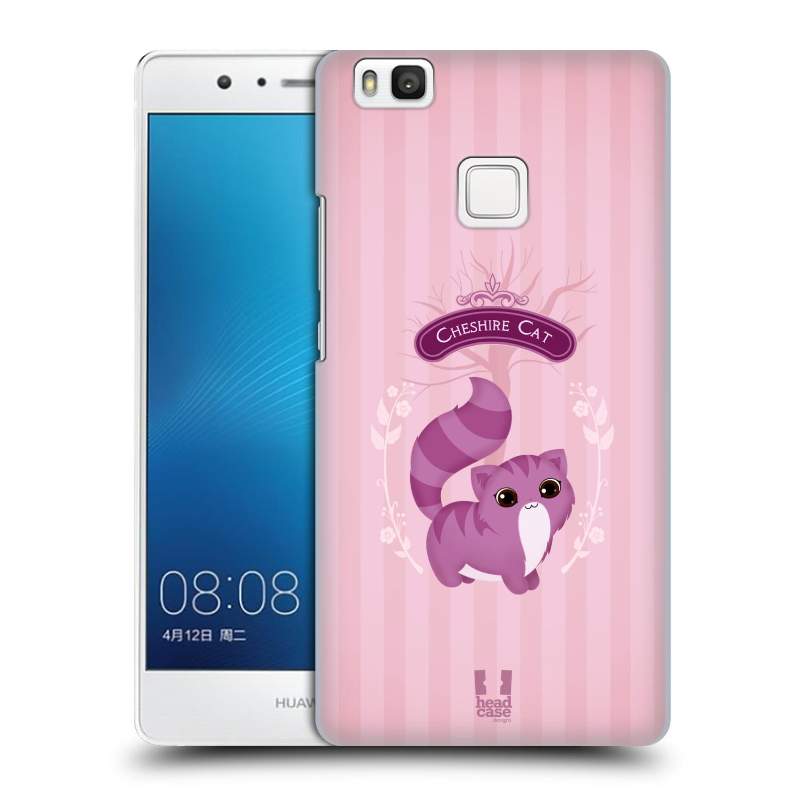 HEAD CASE plastový obal na mobil Huawei P9 LITE / P9 LITE DUAL SIM vzor Alenka v říši divů kočička