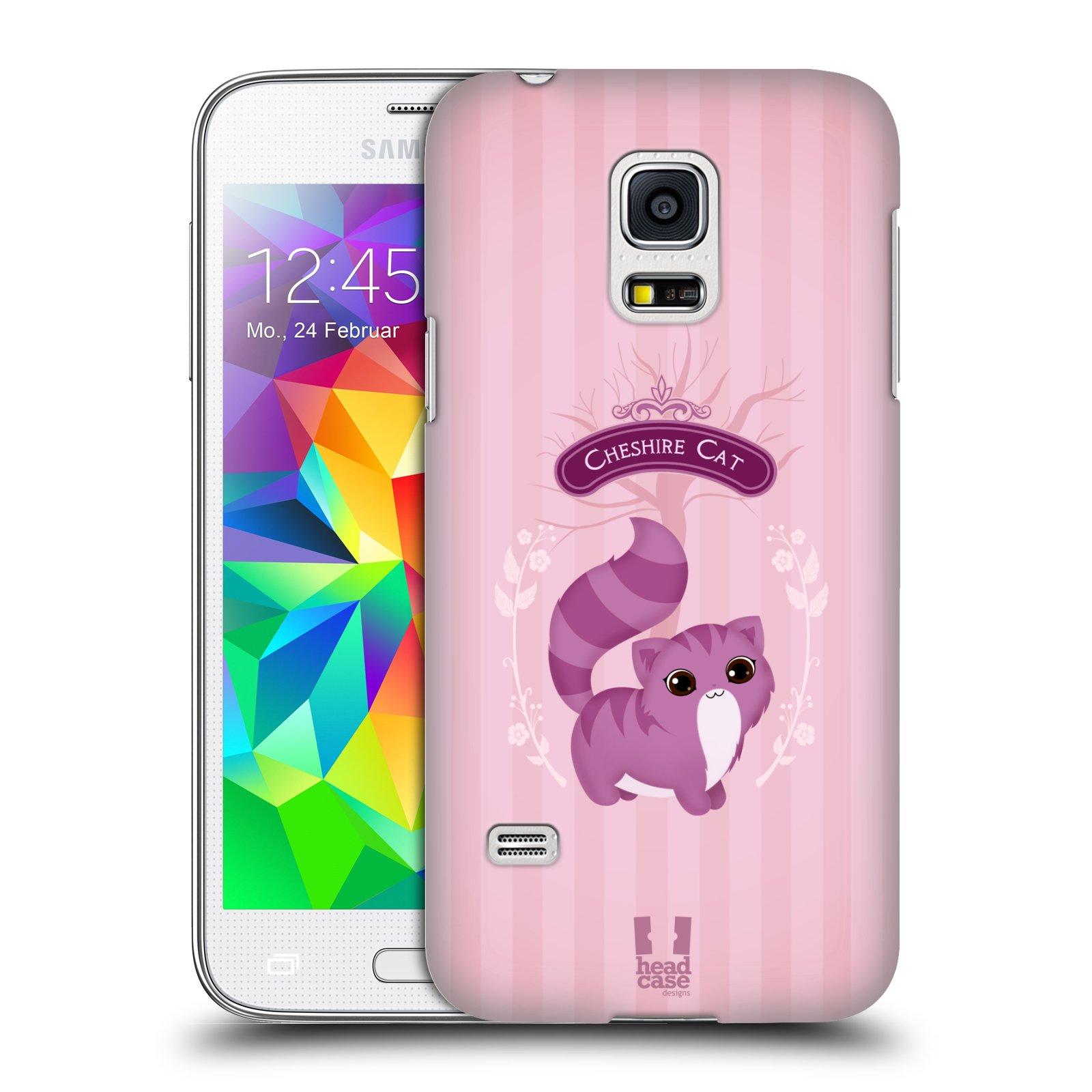 HEAD CASE plastový obal na mobil SAMSUNG Galaxy S5 MINI / S5 MINI DUOS vzor Alenka v říši divů kočička