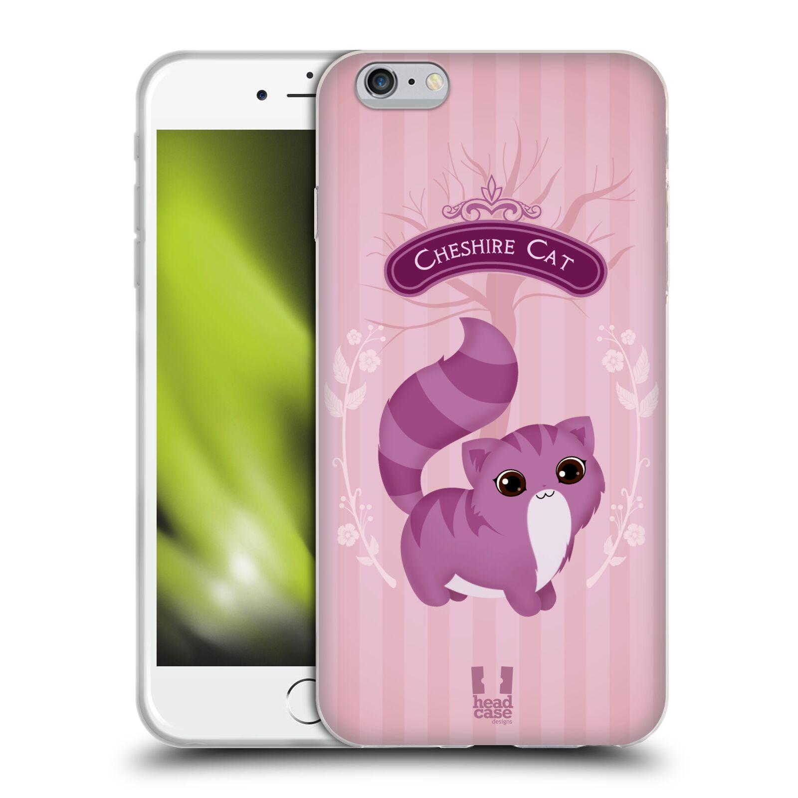 HEAD CASE silikonový obal na mobil Apple Iphone 6 PLUS/ 6S PLUS vzor Alenka v říši divů kočička