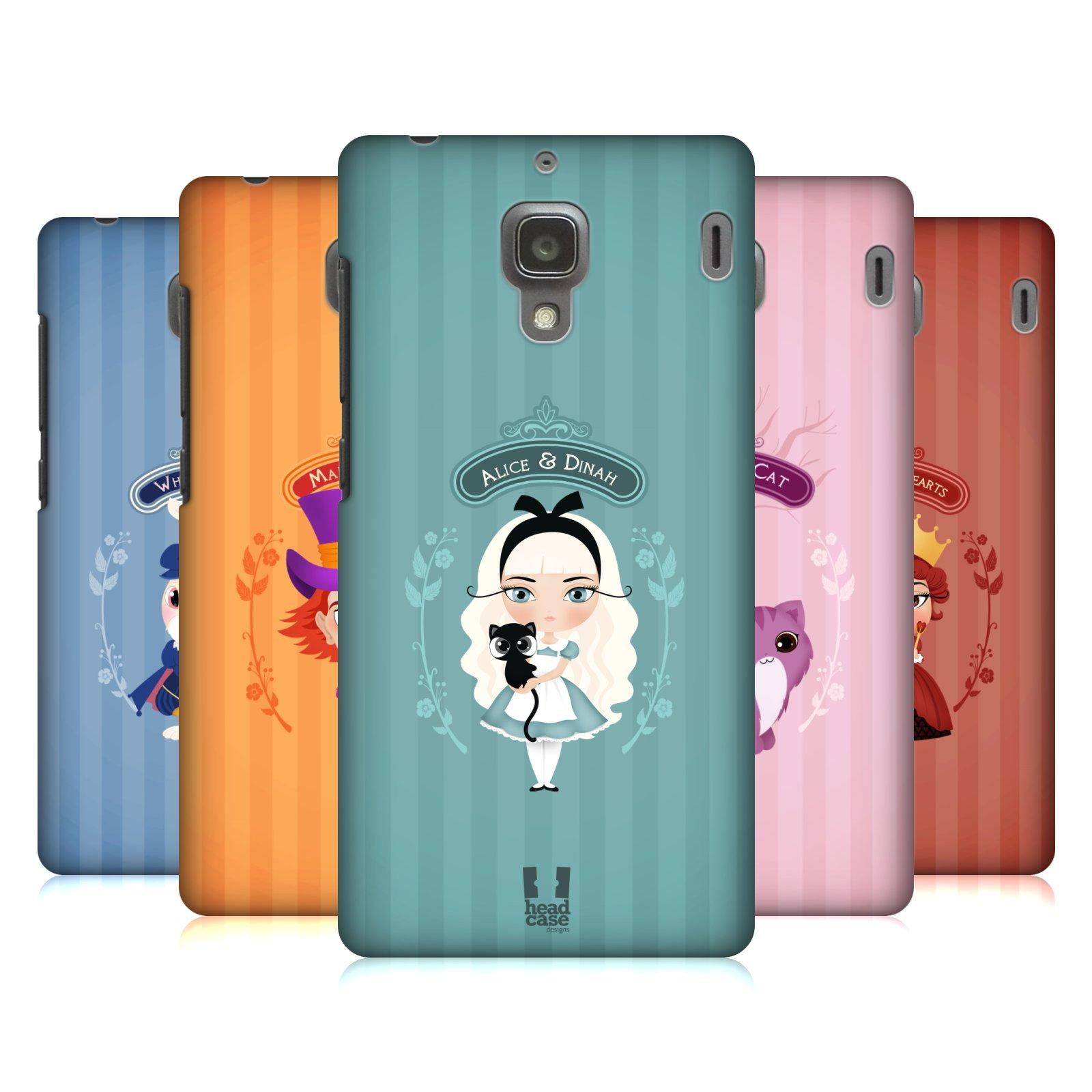 HEAD CASE DESIGNS ALICE IN WONDERLAND HARD BACK CASE FOR XIAOMI PHONES