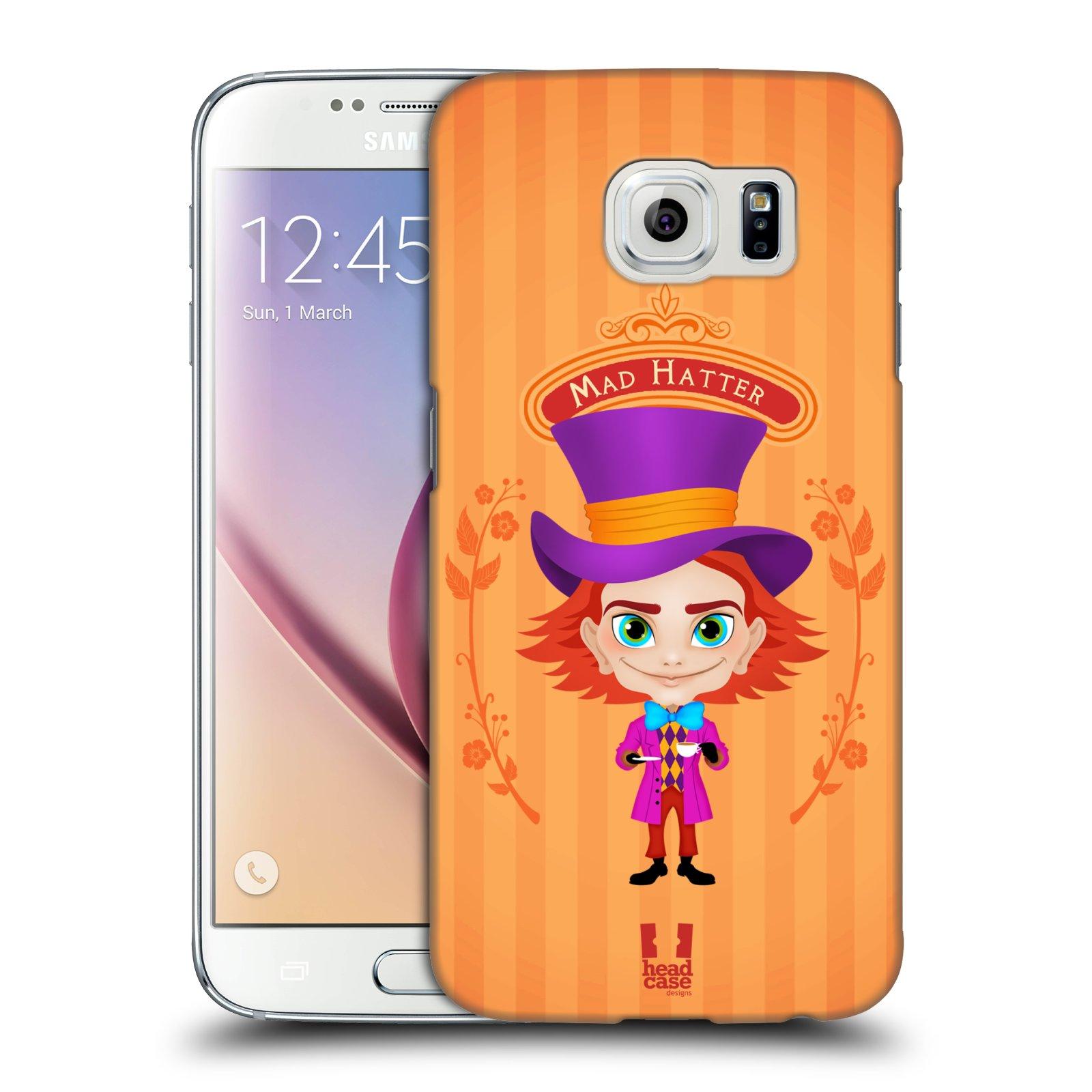 HEAD CASE plastový obal na mobil SAMSUNG Galaxy S6 (G9200, G920F) vzor Alenka v říši divů buřinka