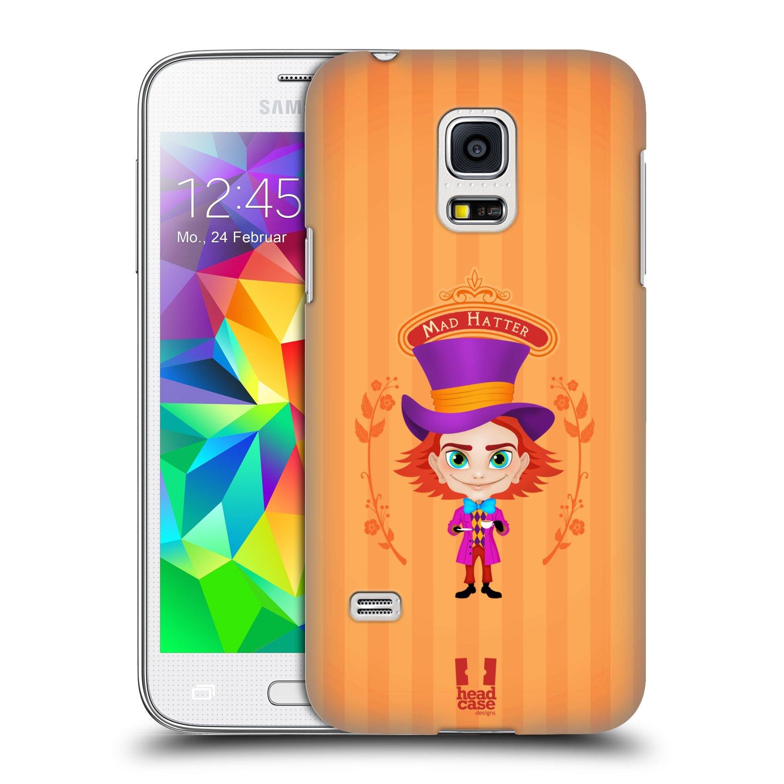HEAD CASE plastový obal na mobil SAMSUNG Galaxy S5 MINI / S5 MINI DUOS vzor Alenka v říši divů buřinka