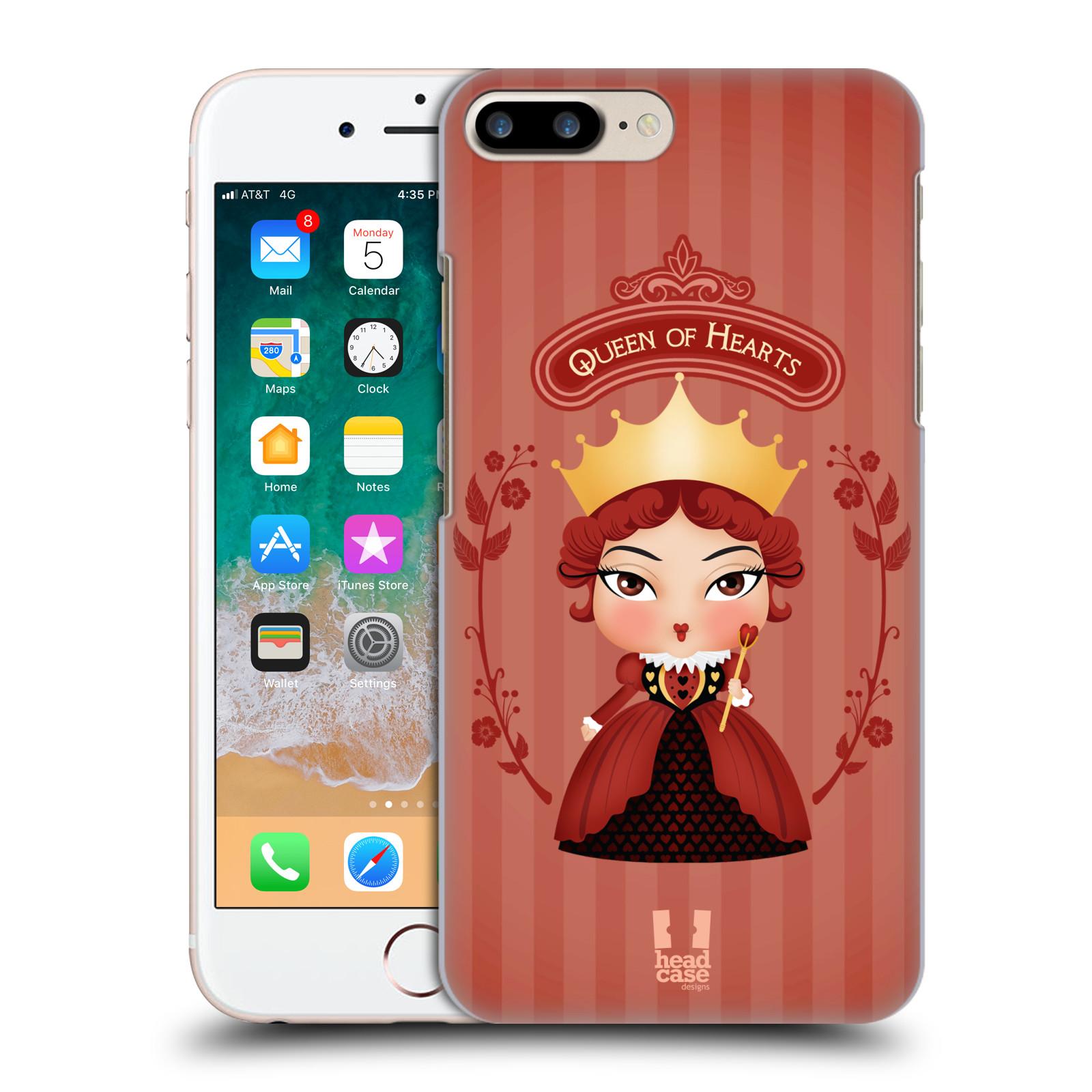 HEAD CASE plastový obal na mobil Apple Iphone 7 PLUS vzor Alenka v říši divů královna