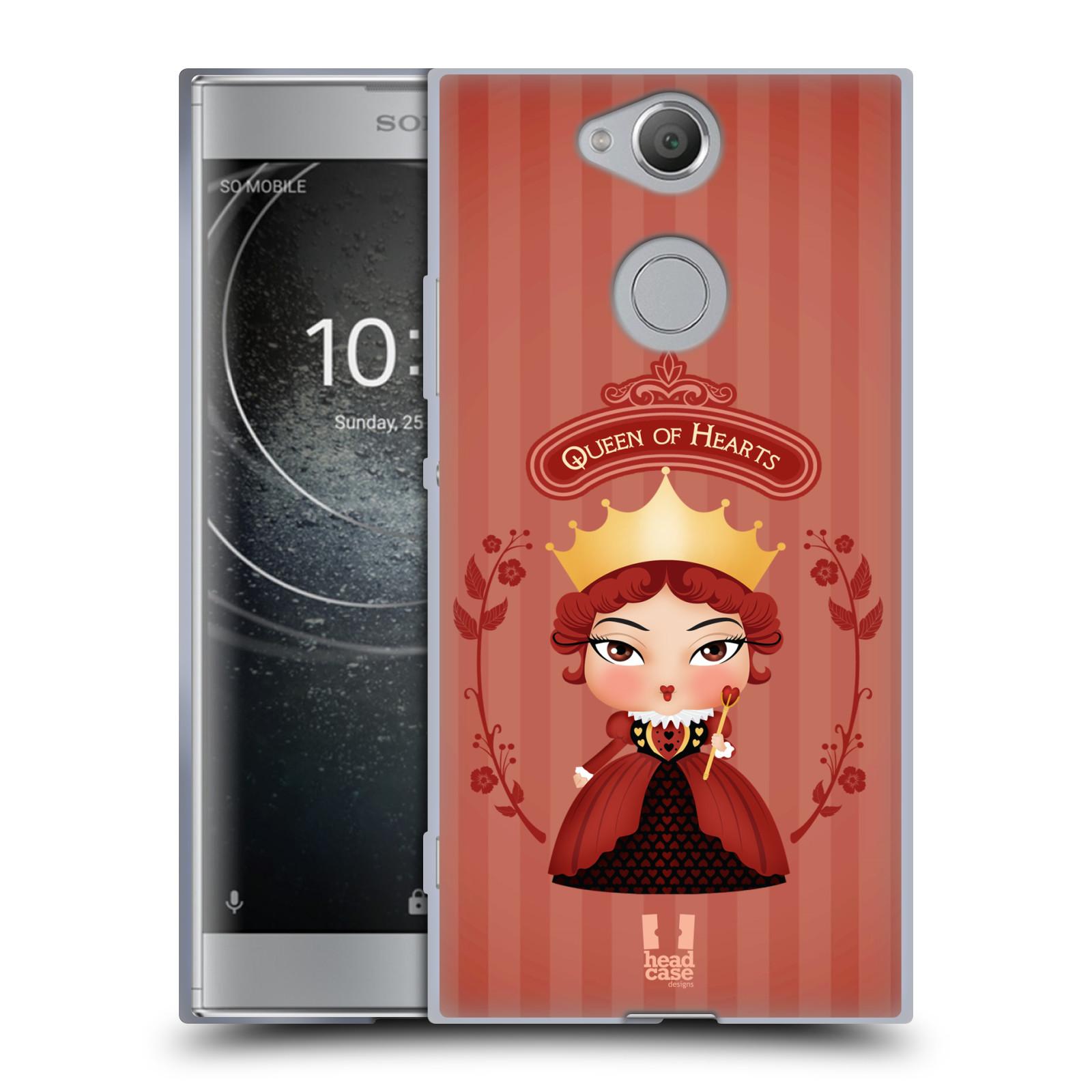 Pouzdro na mobil Sony Xperia XA2 (DUAL SIM, SINGLE SIM) vzor Alenka v říši divů královna