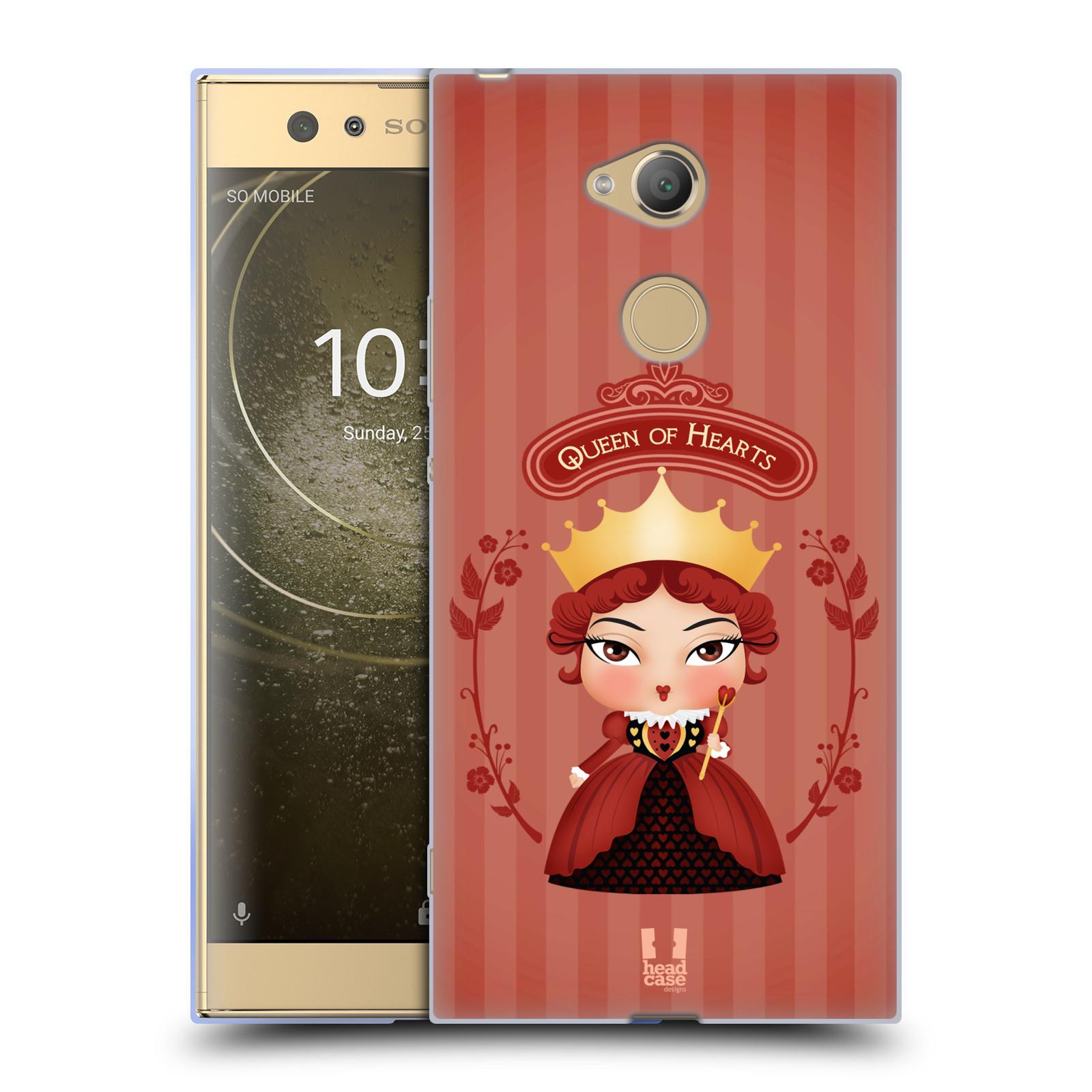 Pouzdro na mobil Sony Xperia XA2 Ultra vzor Alenka v říši divů královna