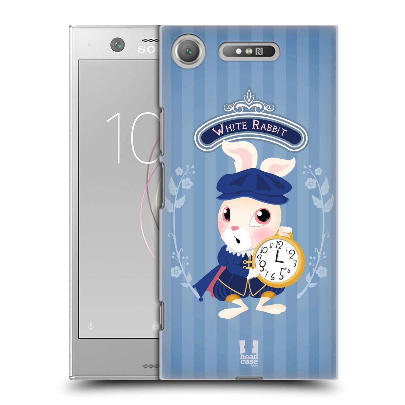 HEAD CASE plastový obal na mobil Sony Xperia XZ1 vzor Alenka v říši divů králíček