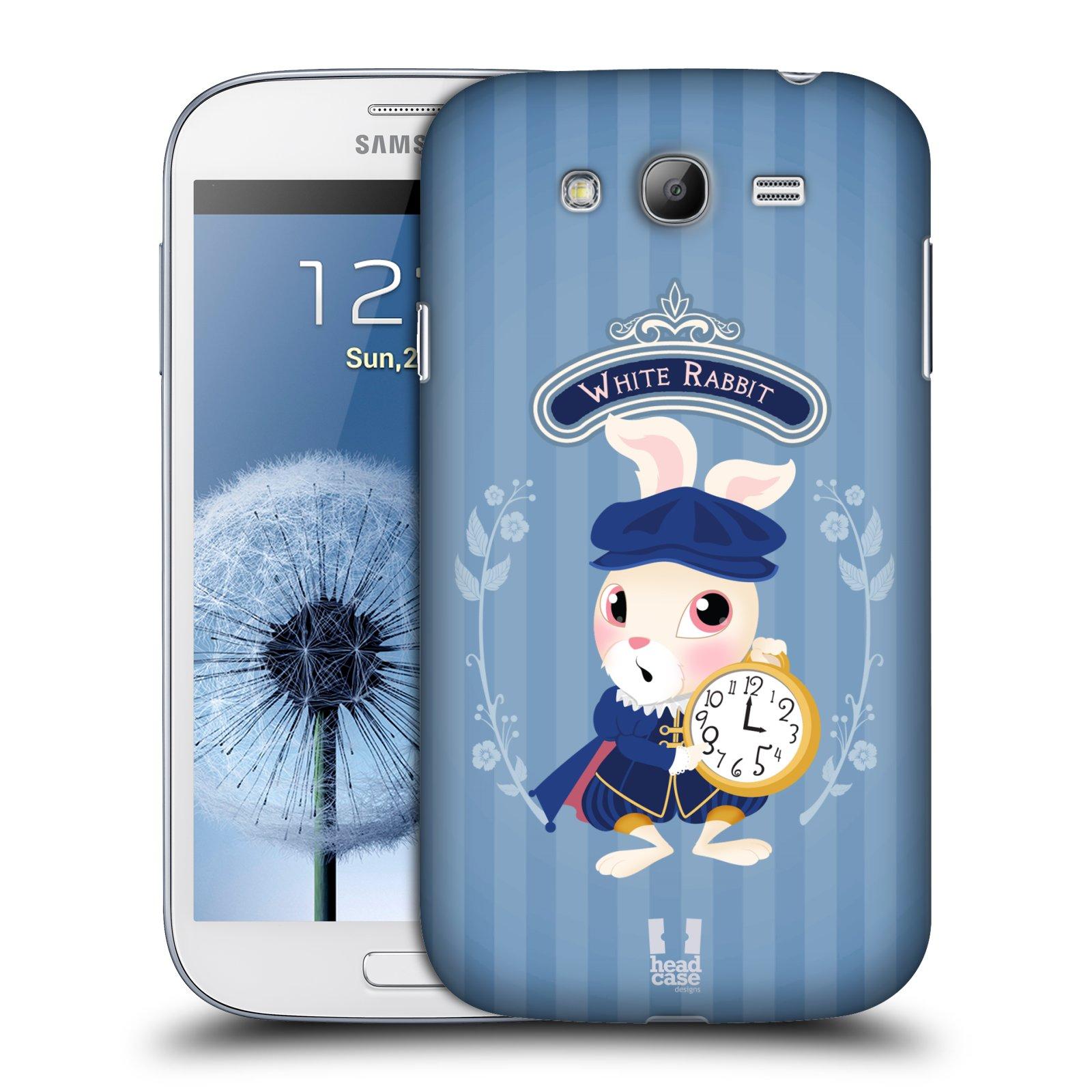 HEAD CASE plastový obal na mobil SAMSUNG GALAXY Grand i9080 vzor Alenka v říši divů králíček