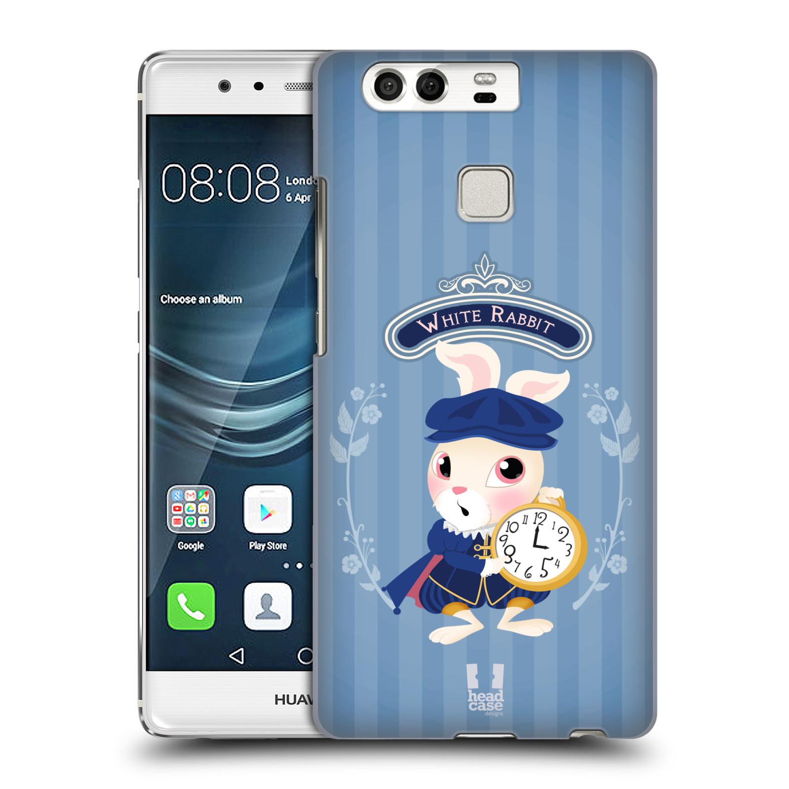 HEAD CASE plastový obal na mobil Huawei P9 / P9 DUAL SIM vzor Alenka v říši divů králíček