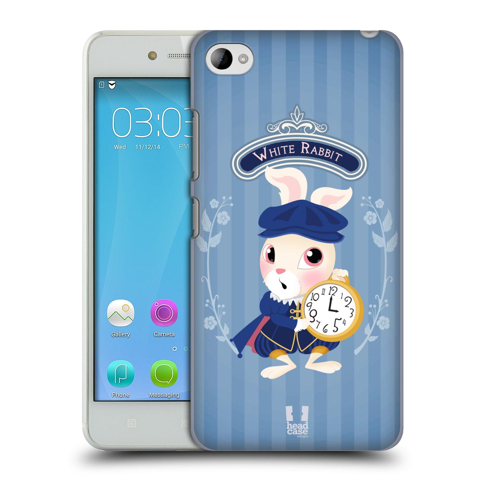 HEAD CASE pevný plastový obal na mobil LENOVO S90 vzor Alenka v říši divů králíček