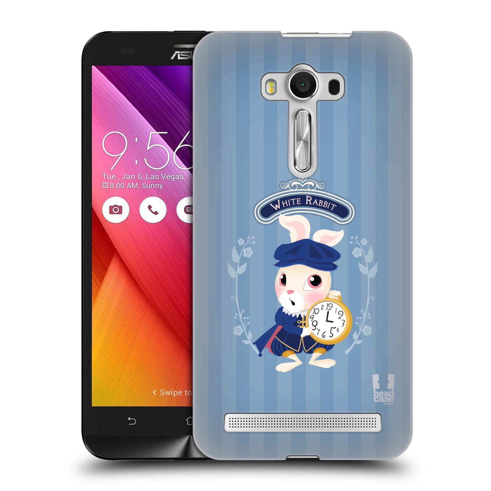 HEAD CASE plastový obal na mobil Asus Zenfone 2 LASER (5,5 displej ZE550KL) vzor Alenka v říši divů králíček