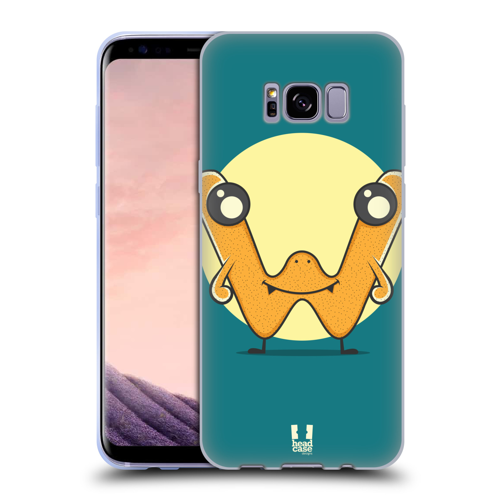 HEAD-CASE-DESIGNS-ALPHABET-MONSTER-SOFT-GEL-CASE-FOR-SAMSUNG-GALAXY-S8-S8-PLUS