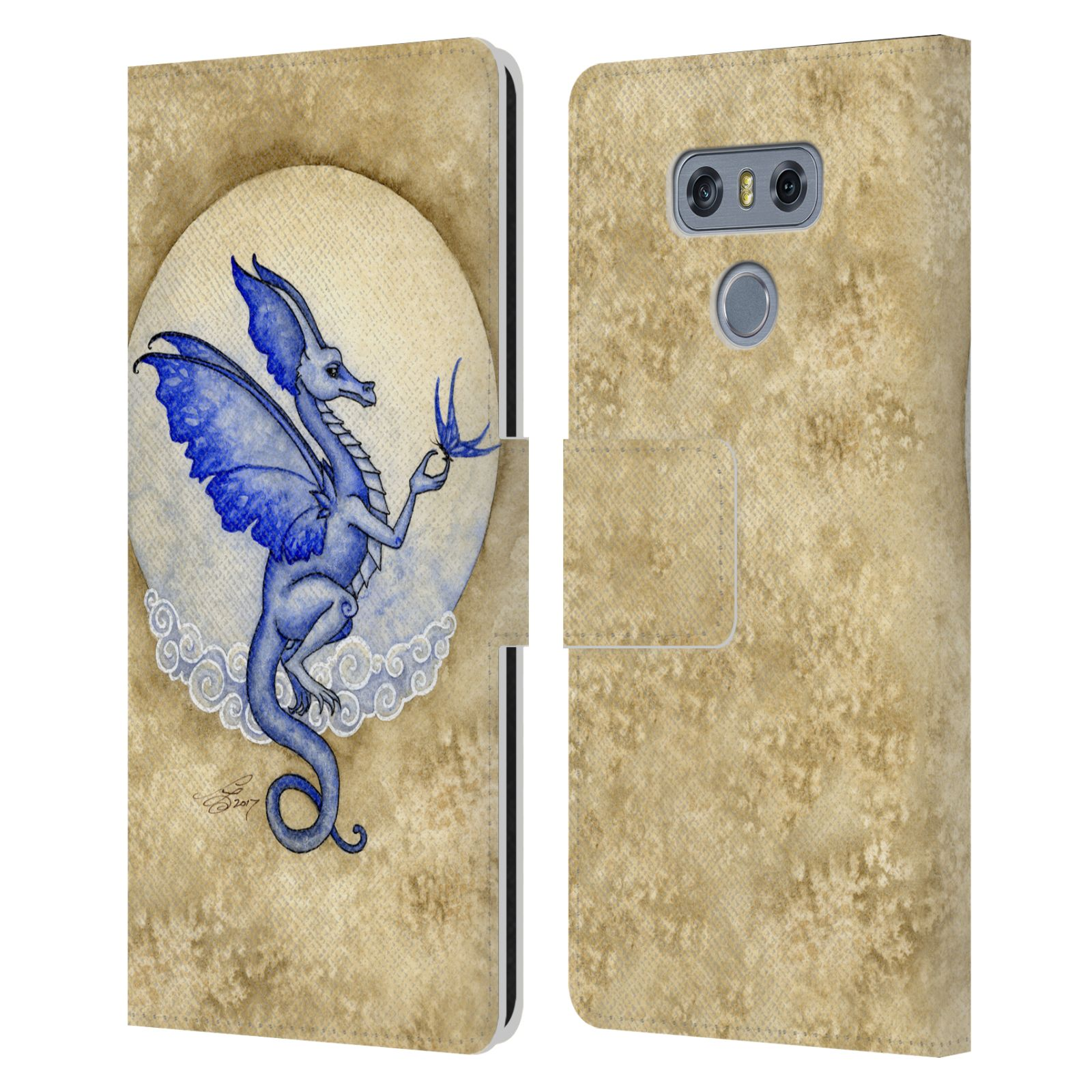OFFICIAL-AMY-BROWN-MYTHICAL-LEATHER-BOOK-WALLET-CASE-COVER-FOR-LG-PHONES-1