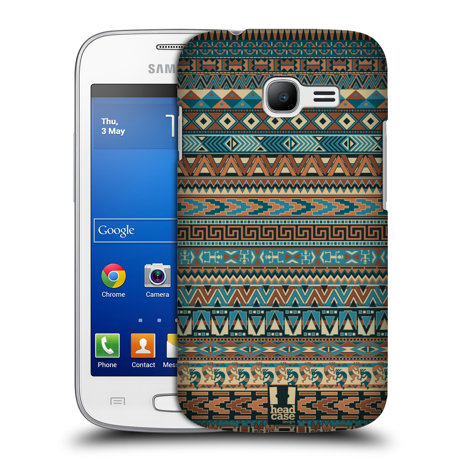 HEAD CASE DESIGNS AMERINDIAN CASE COVER FOR SAMSUNG GALAXY STAR PRO S7260 S7262