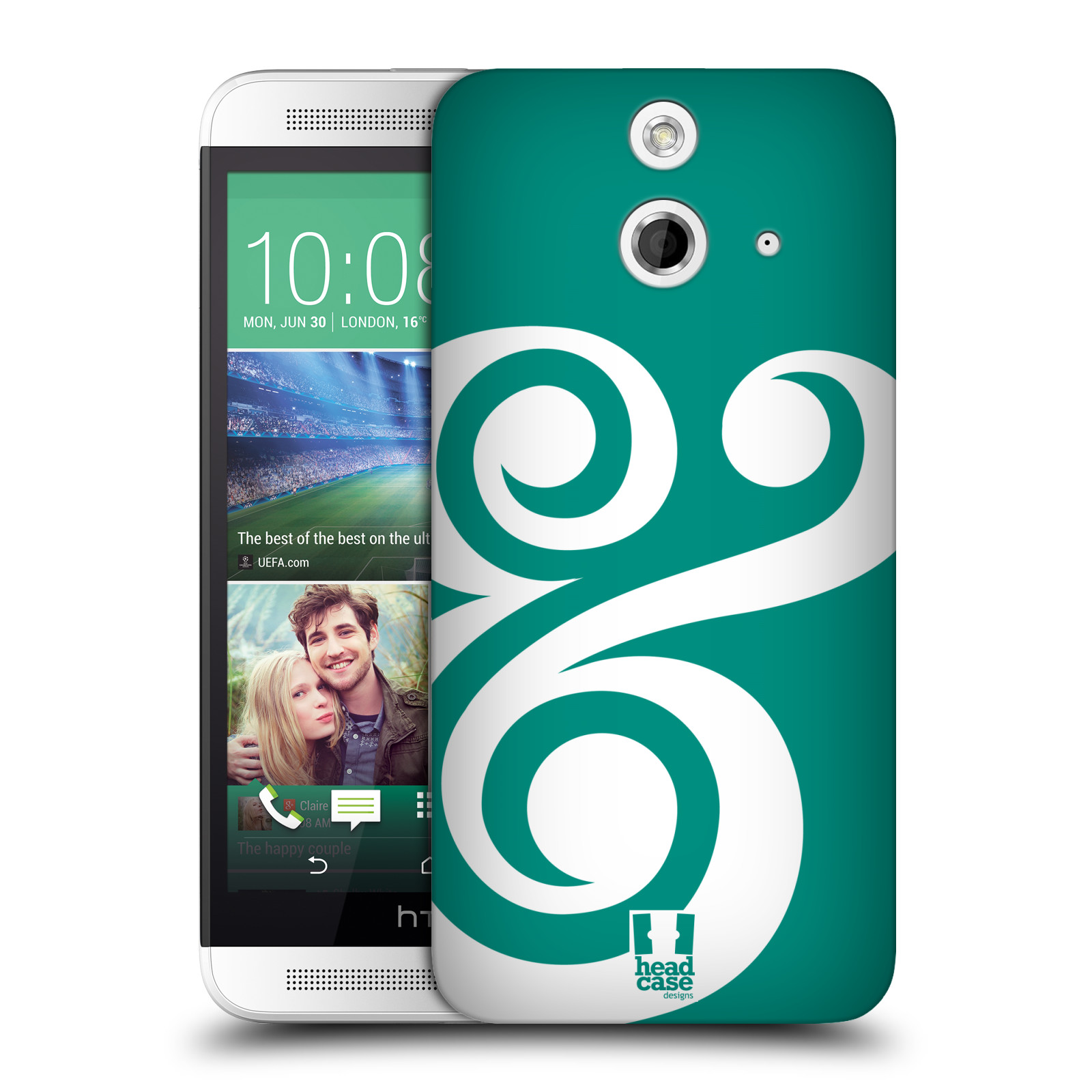 HEAD CASE DESIGNS AMPERSAND LOVE HARD BACK CASE FOR HTC ONE E8 DUAL SIM