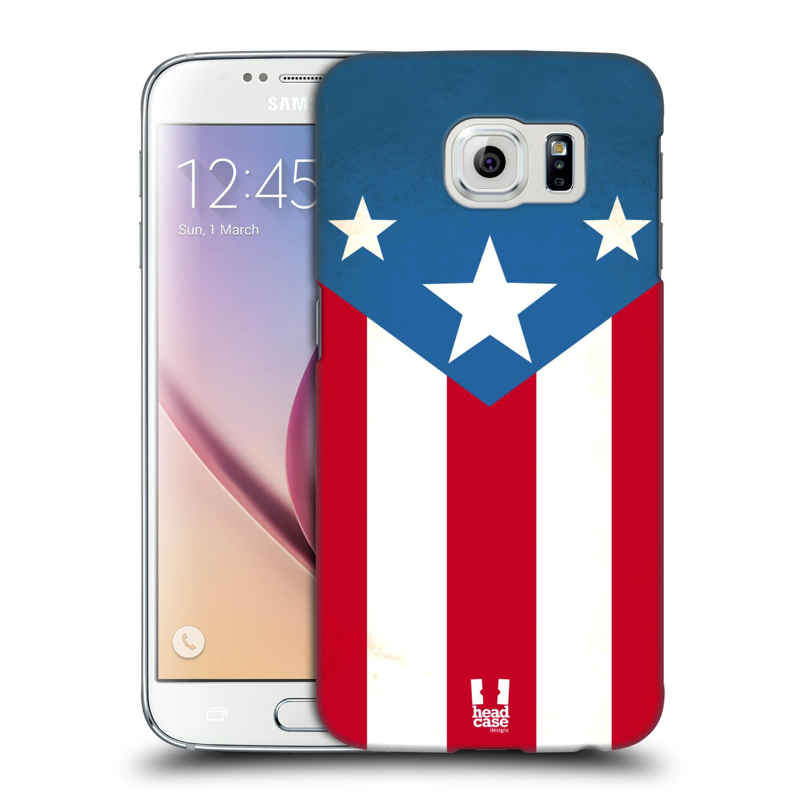 HEAD CASE plastový obal na mobil SAMSUNG Galaxy S6 (G9200, G920F) vzor Americká pýcha VLAJKA
