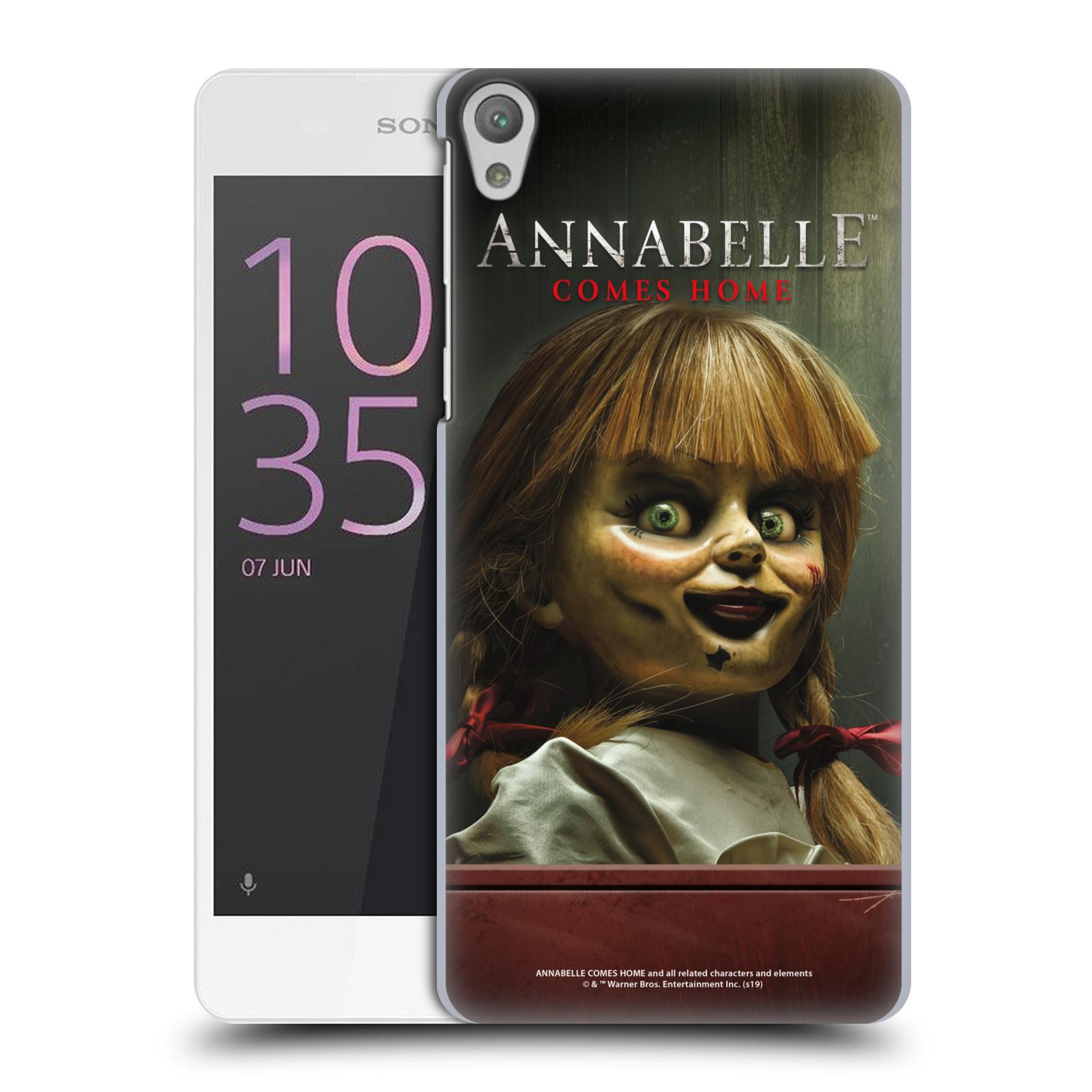 Pouzdro na mobil Sony Xperia E5 - HEAD CASE - Annabelle hororová panenka