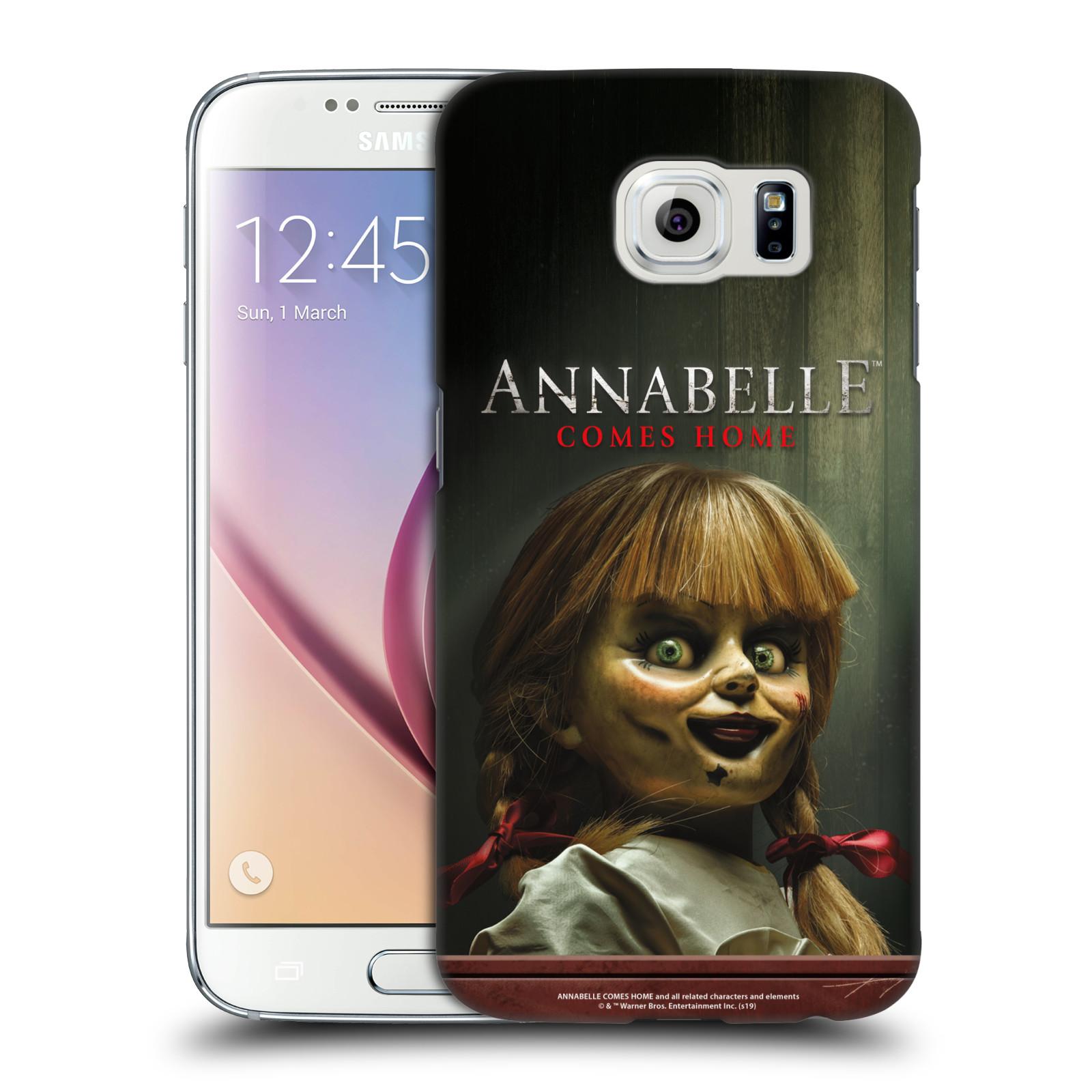 Pouzdro na mobil Samsung Galaxy S6 - HEAD CASE - Annabelle hororová panenka