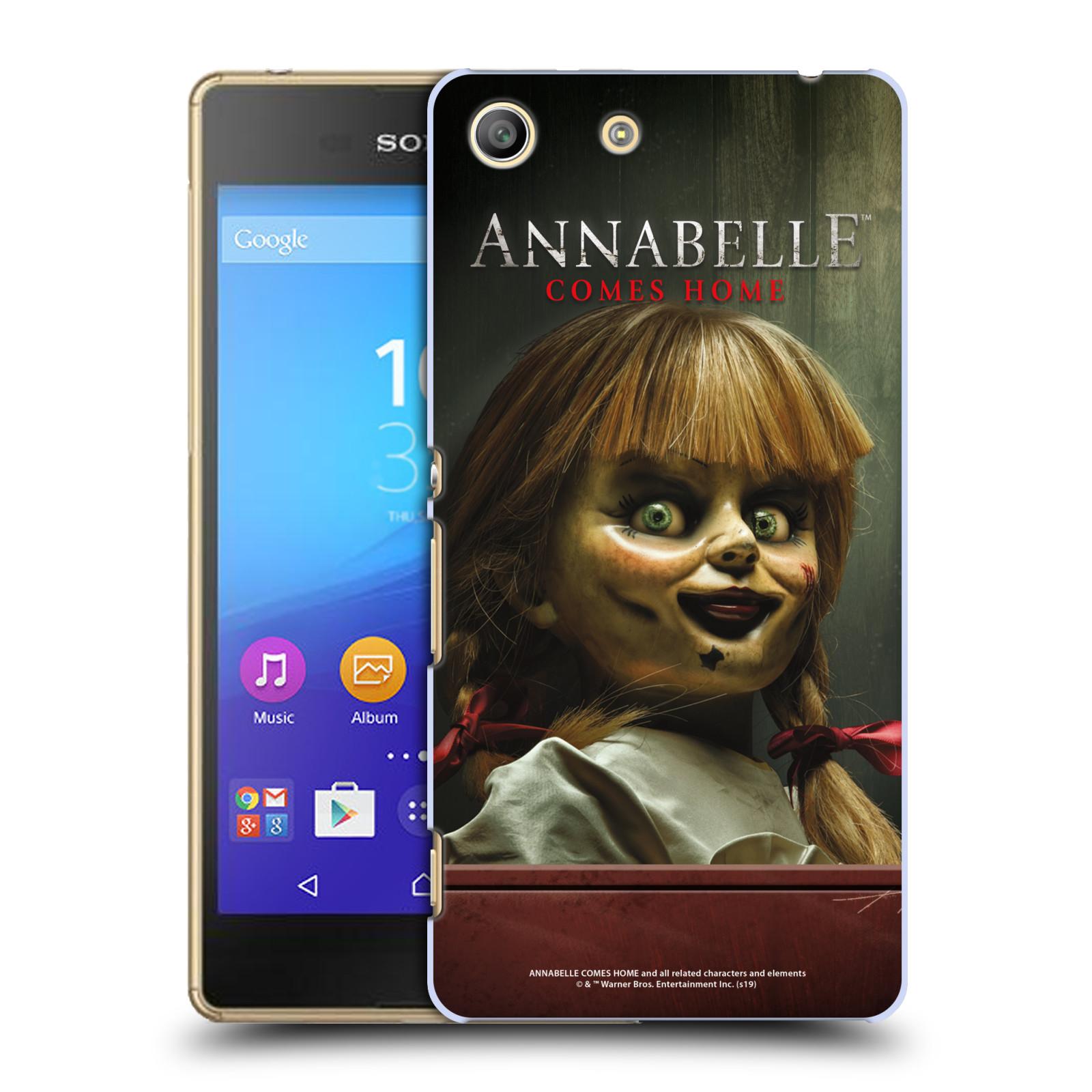 Pouzdro na mobil Sony Xperia M5 - HEAD CASE - Annabelle hororová panenka