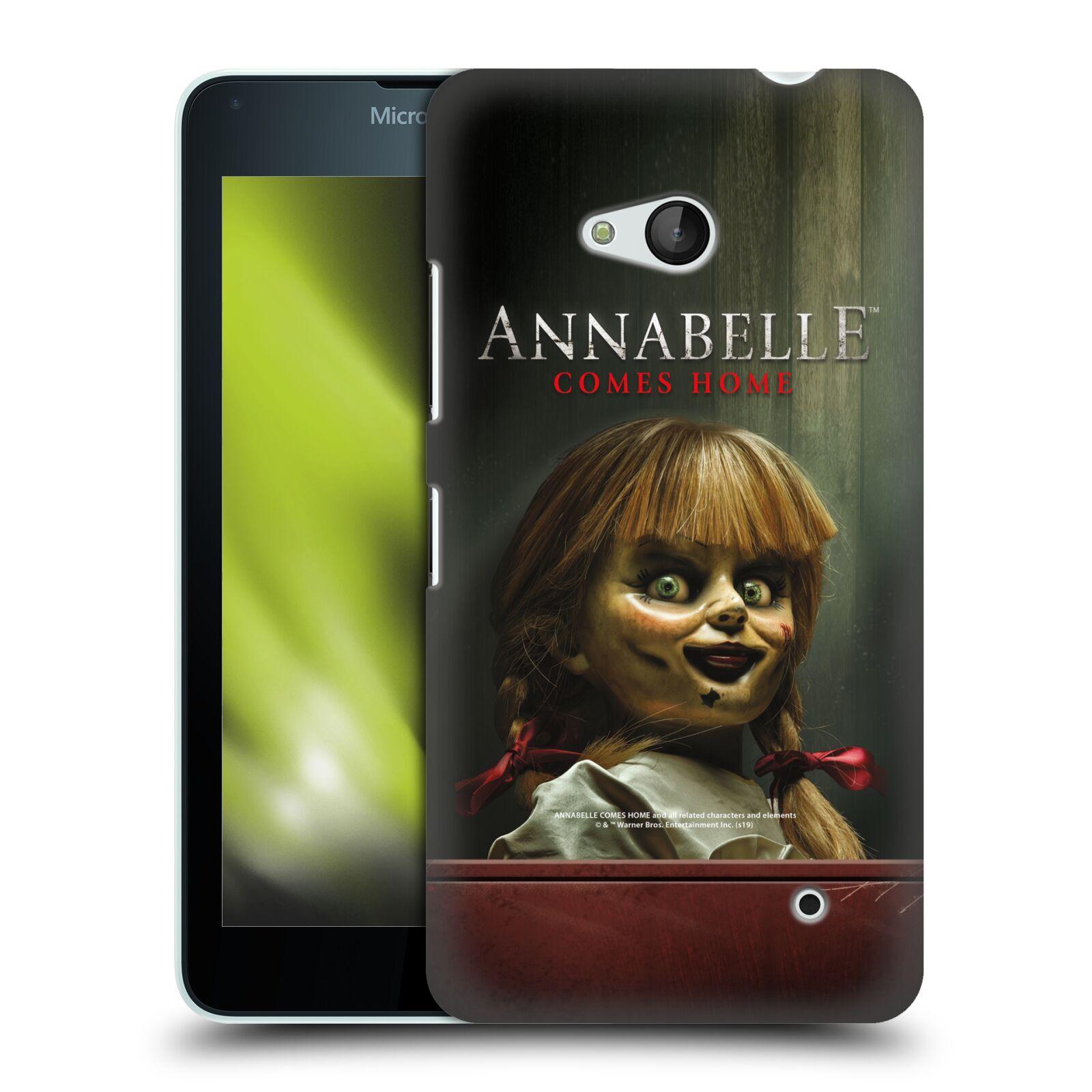 Pouzdro na mobil Microsoft Lumia 640 / 640 DUAL SIM - HEAD CASE - Annabelle hororová panenka