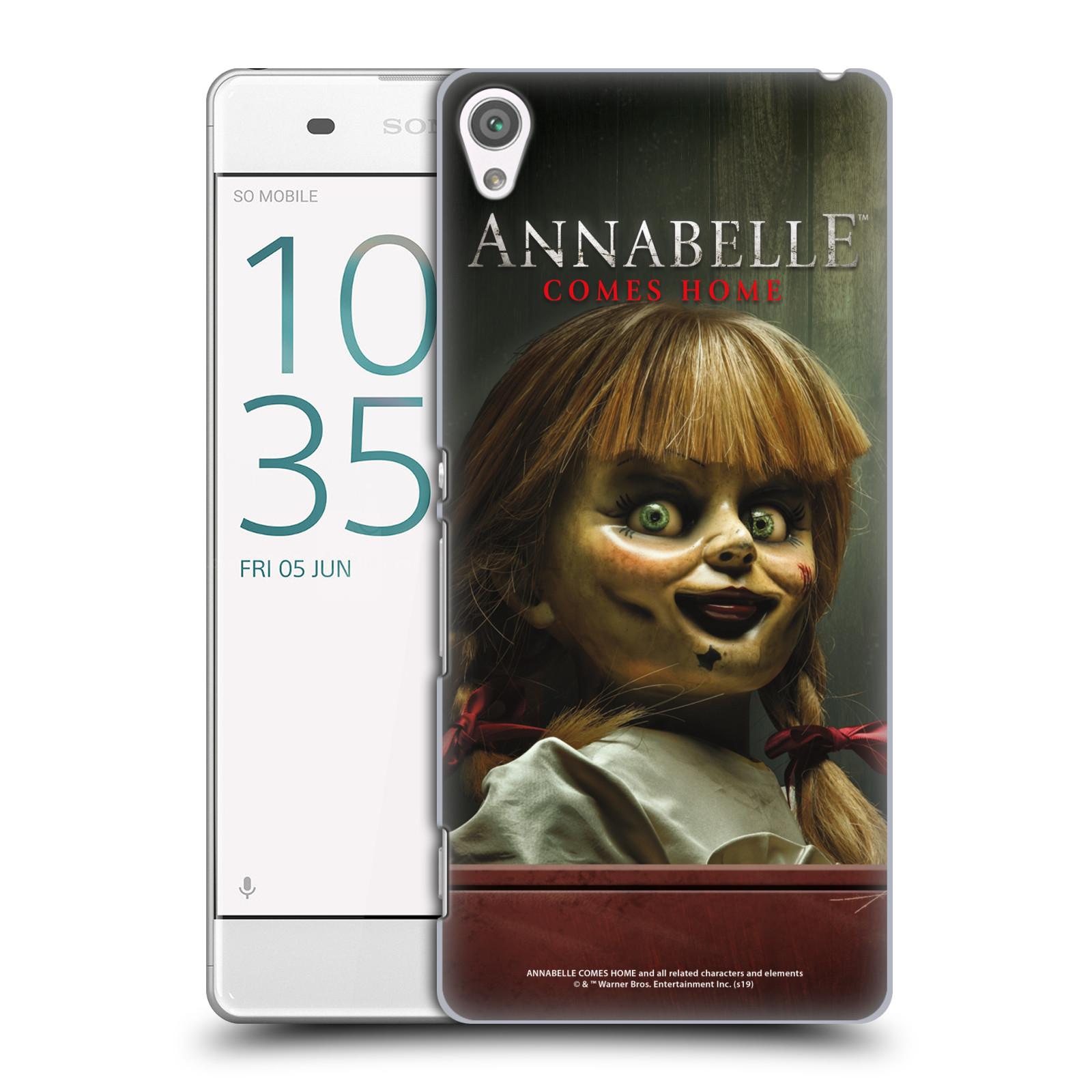 Pouzdro na mobil Sony Xperia XA - HEAD CASE - Annabelle hororová panenka