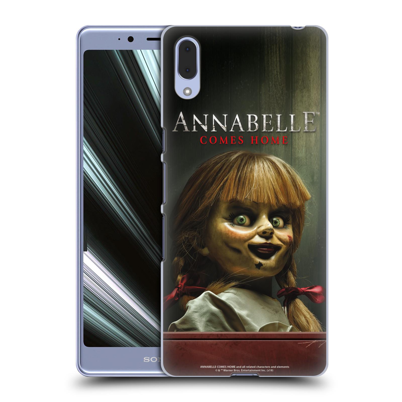 Pouzdro na mobil Sony Xperia L3 - HEAD CASE - Annabelle hororová panenka