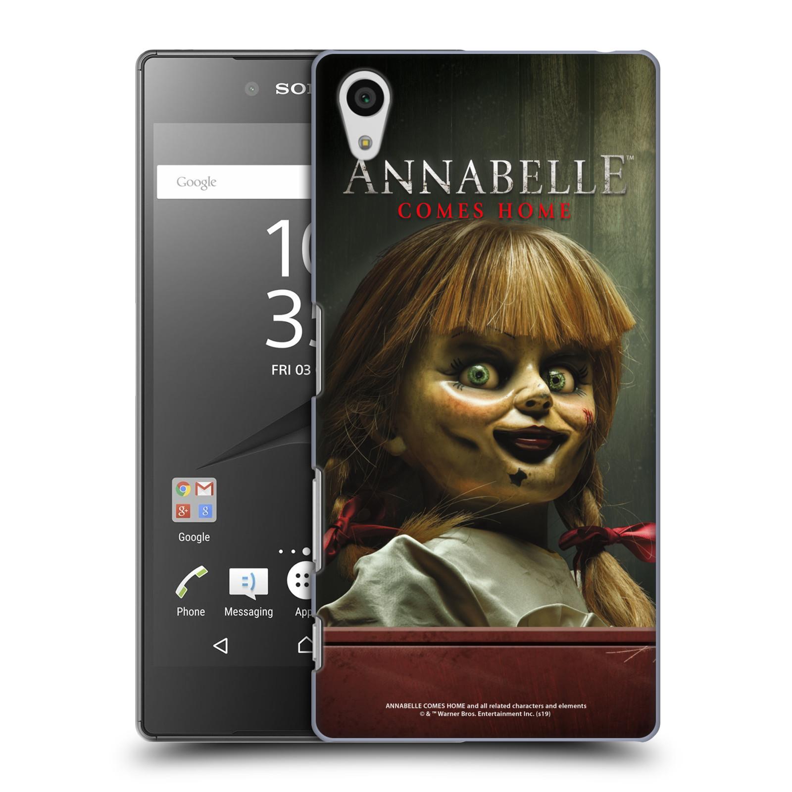 Pouzdro na mobil Sony Xperia Z5 - HEAD CASE - Annabelle hororová panenka