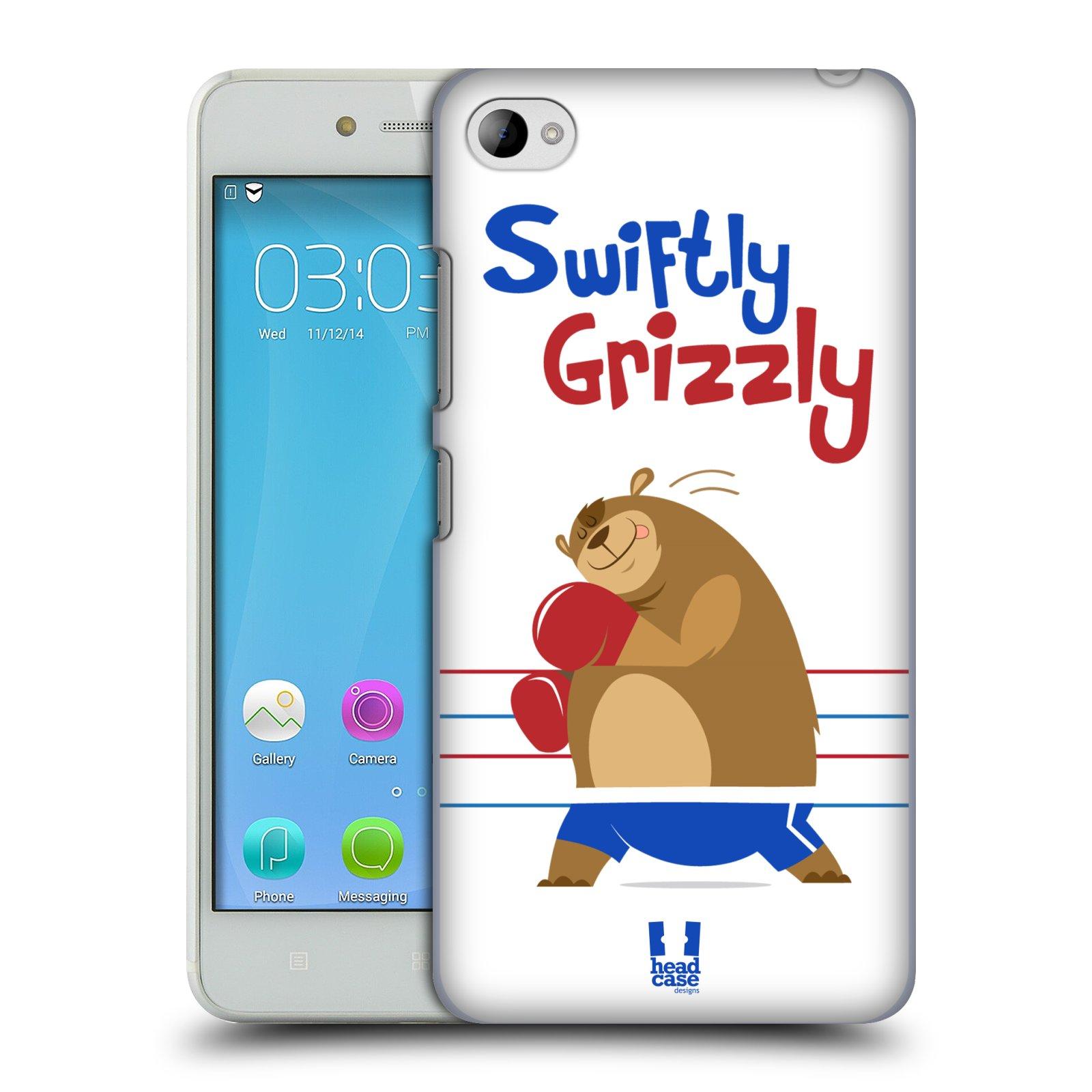 HEAD CASE pevný plastový obal na mobil LENOVO S90 vzor Zvířátka atleti medvěd boxér