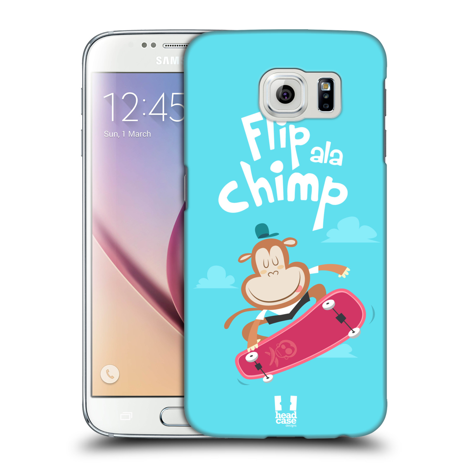 HEAD CASE plastový obal na mobil SAMSUNG Galaxy S6 (G9200, G920F) vzor Zvířátka atleti opice