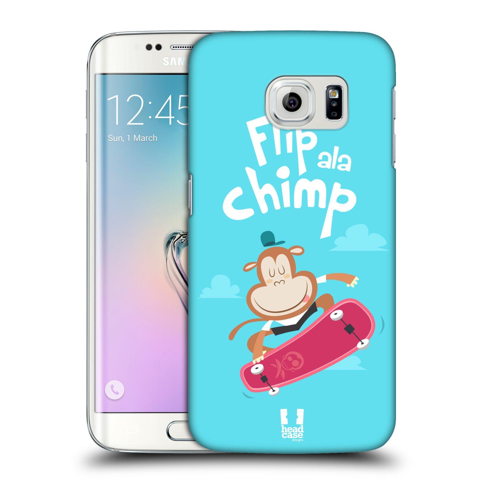 HEAD CASE plastový obal na mobil SAMSUNG Galaxy S6 EDGE (G9250, G925, G925F) vzor Zvířátka atleti opice