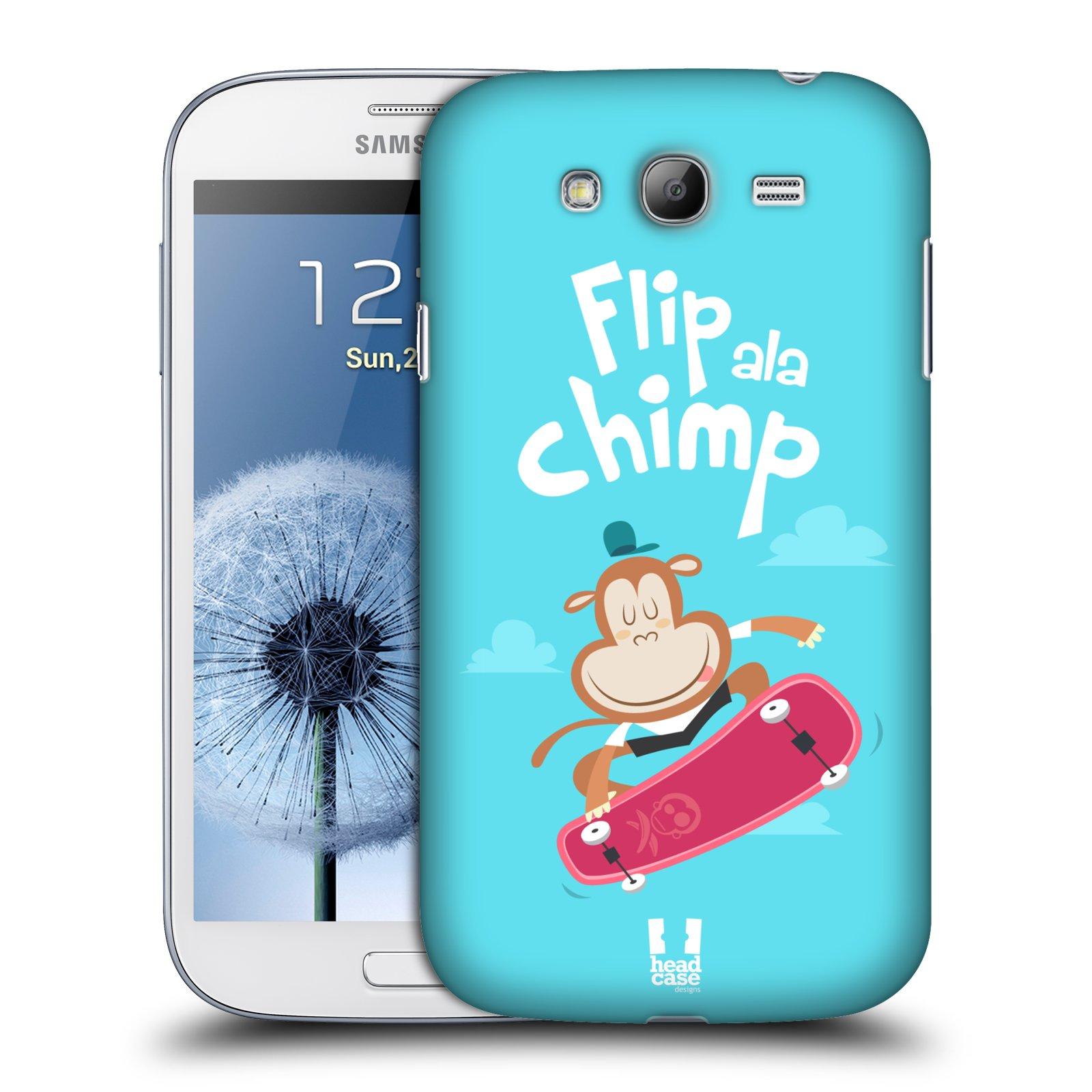 HEAD CASE plastový obal na mobil SAMSUNG GALAXY Grand i9080 vzor Zvířátka atleti opice