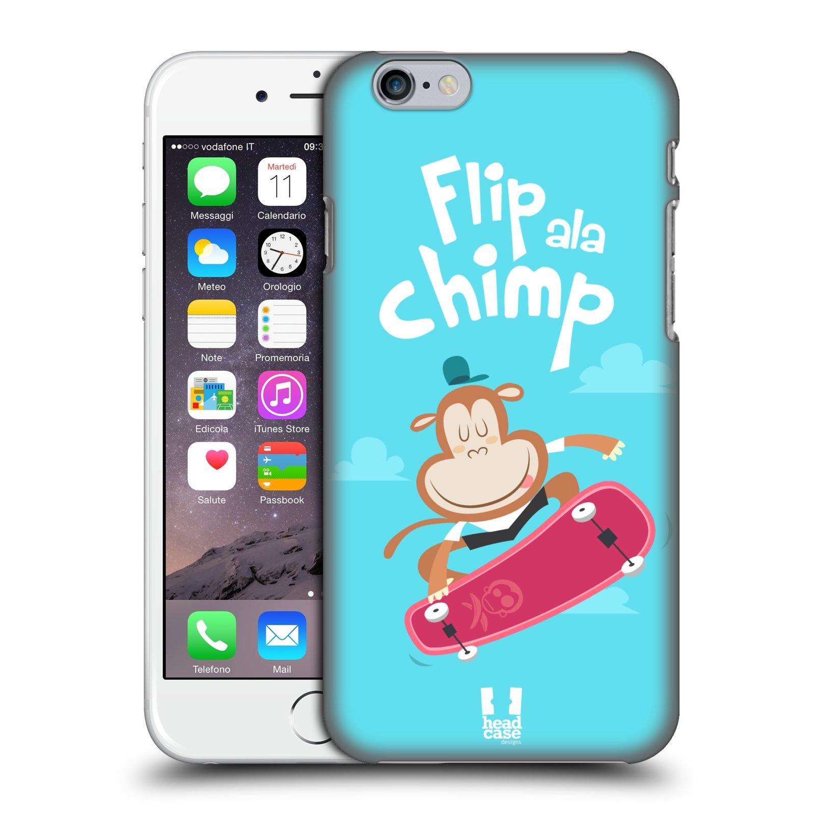 Plastové pouzdro pro mobil Apple Iphone 6/6S vzor Zvířátka atleti opice