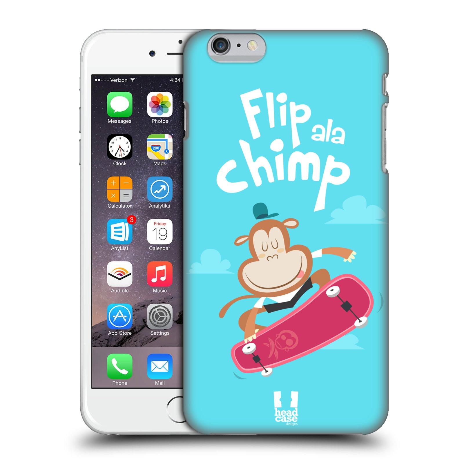 Plastové pouzdro pro mobil Apple Iphone 6 PLUS / 6S PLUS vzor Zvířátka atleti opice