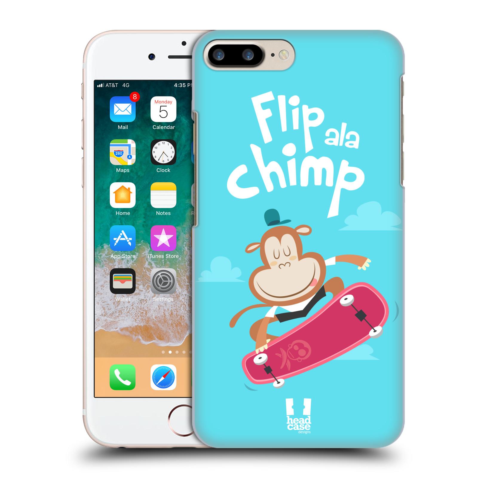 HEAD CASE plastový obal na mobil Apple Iphone 7 PLUS vzor Zvířátka atleti opice