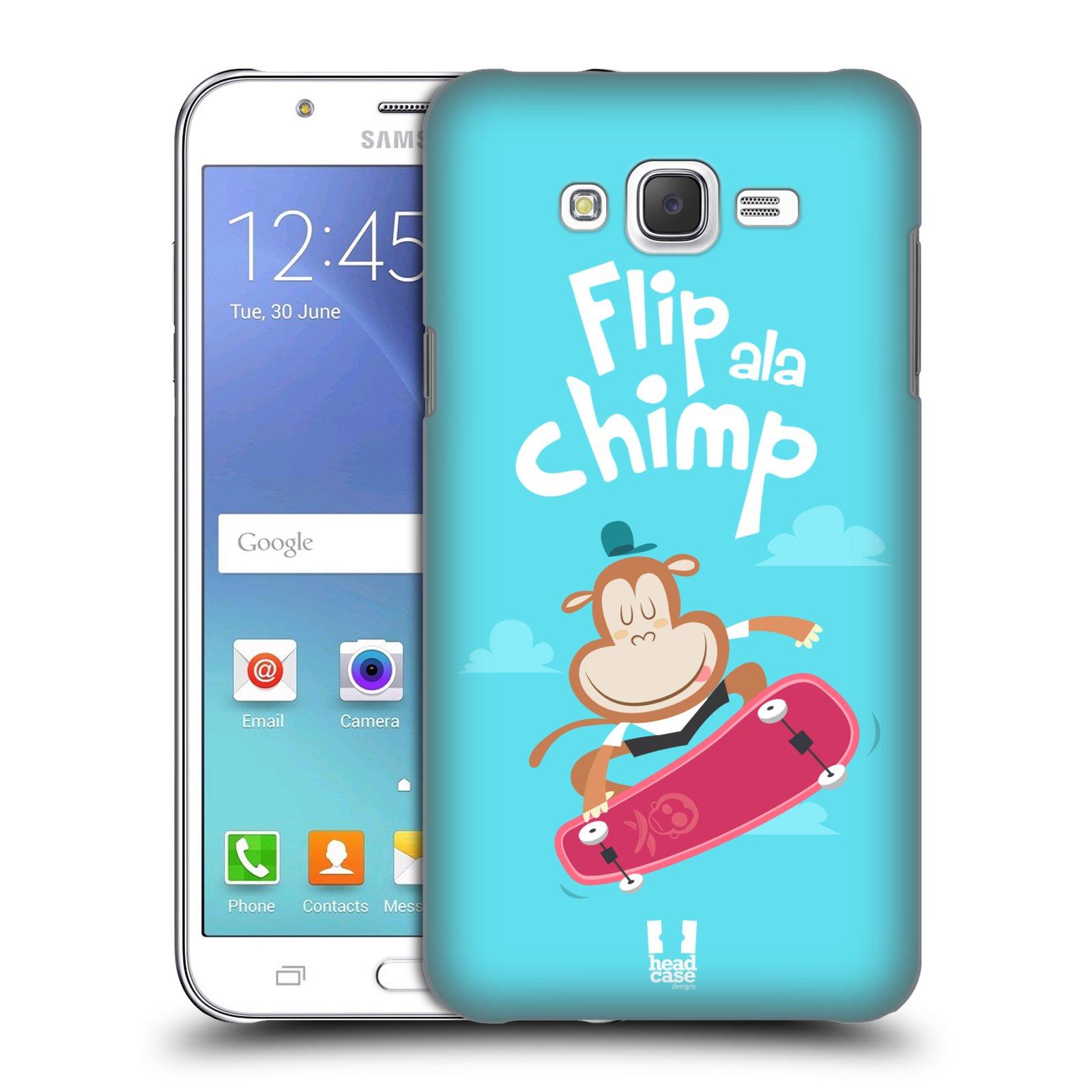HEAD CASE plastový obal na mobil SAMSUNG Galaxy J7, J700 vzor Zvířátka atleti opice