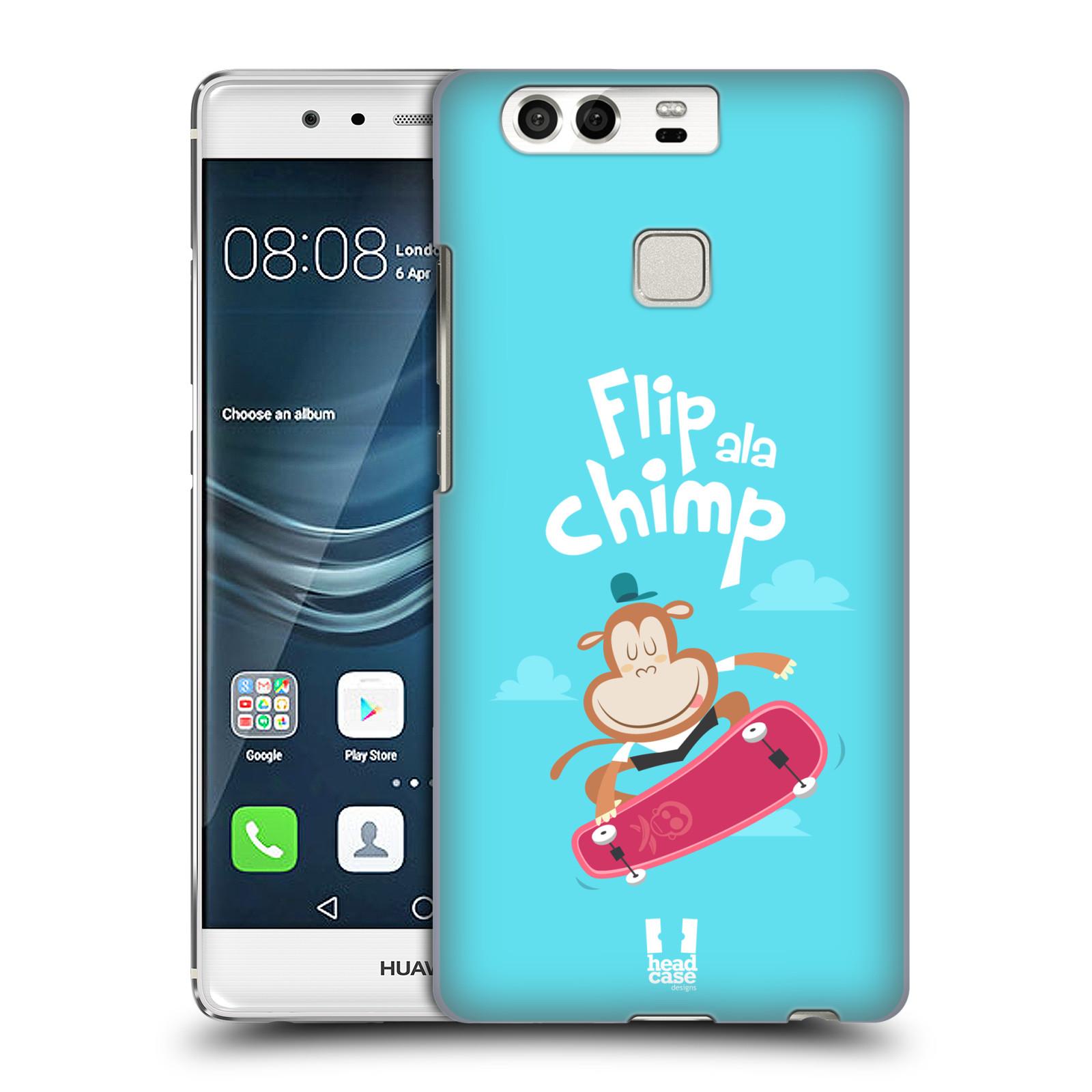 HEAD CASE plastový obal na mobil Huawei P9 / P9 DUAL SIM vzor Zvířátka atleti opice
