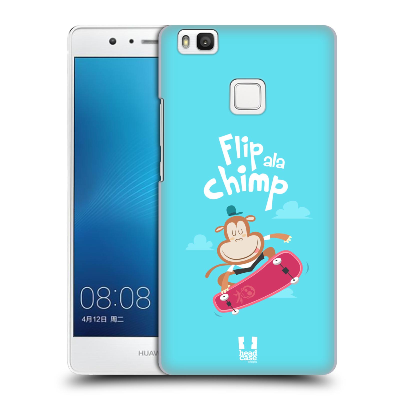HEAD CASE plastový obal na mobil Huawei P9 LITE / P9 LITE DUAL SIM vzor Zvířátka atleti opice