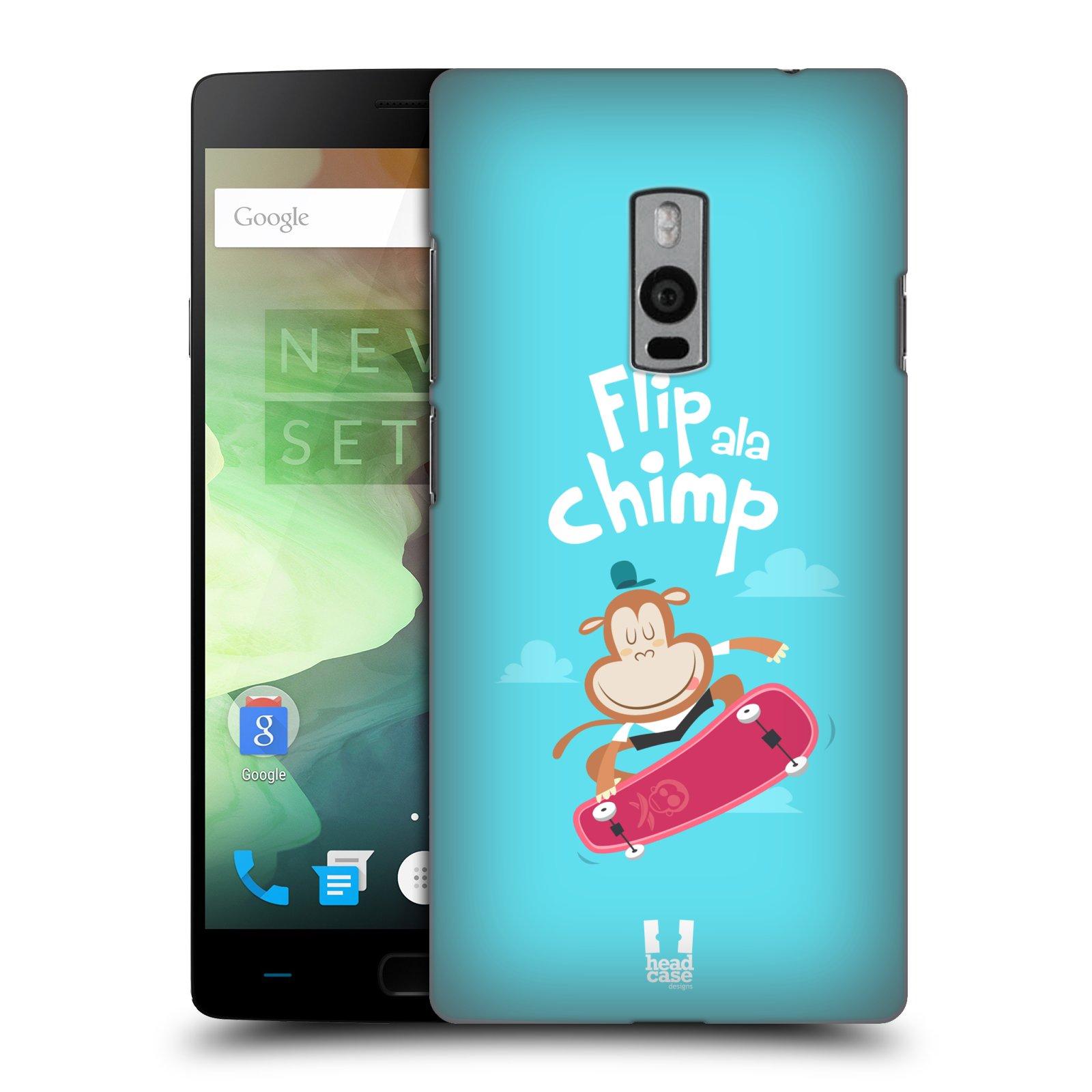 HEAD CASE pevný plastový obal na mobil OnePlus 2  ( TWO ) vzor Zvířátka atleti opice