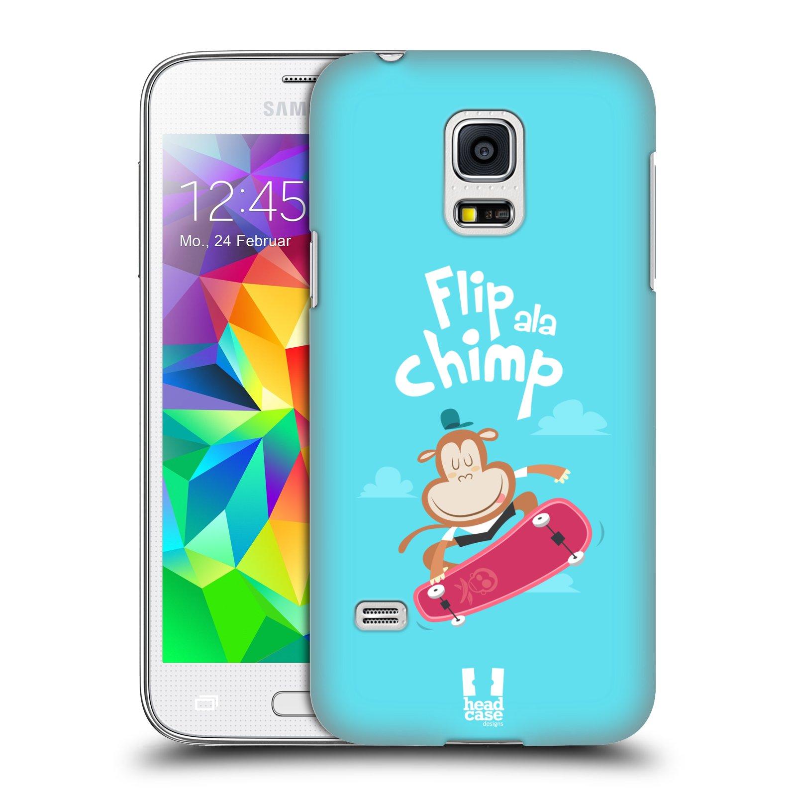 HEAD CASE plastový obal na mobil SAMSUNG Galaxy S5 MINI / S5 MINI DUOS vzor Zvířátka atleti opice