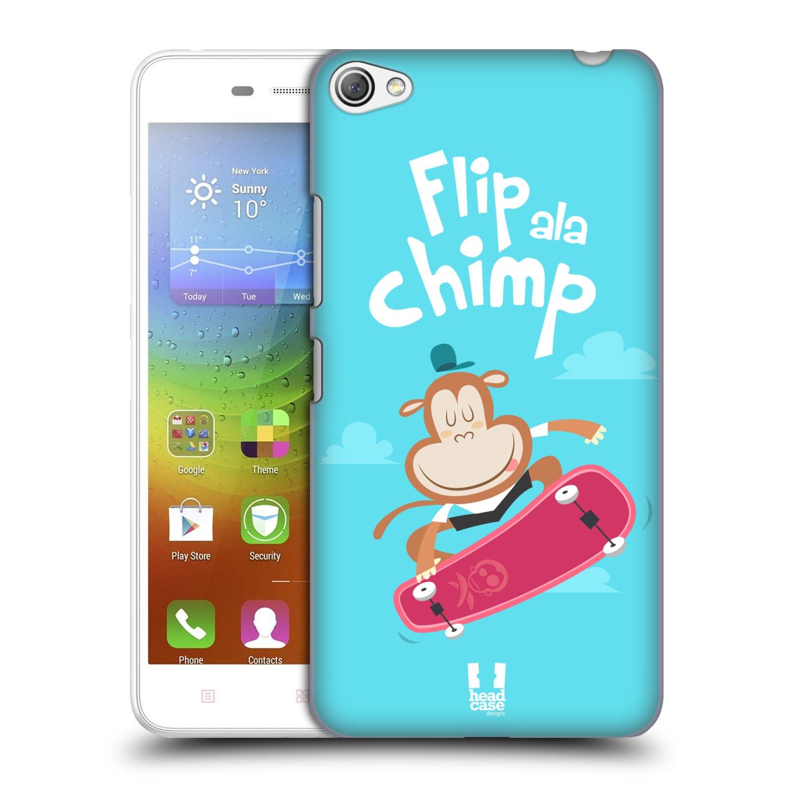 HEAD CASE pevný plastový obal na mobil LENOVO S60 / LENOVO S60 DUAL SIM vzor Zvířátka atleti opice