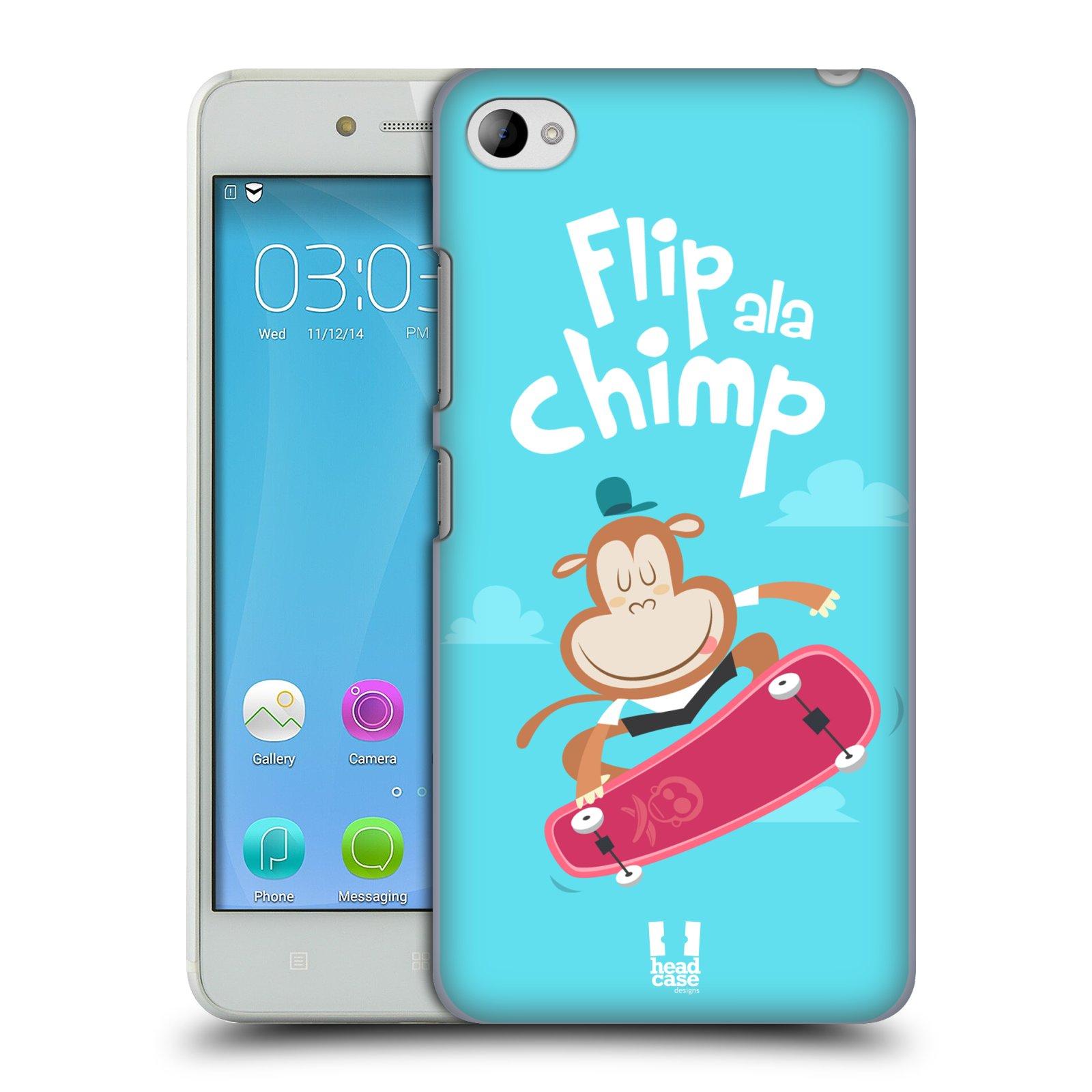 HEAD CASE pevný plastový obal na mobil LENOVO S90 vzor Zvířátka atleti opice