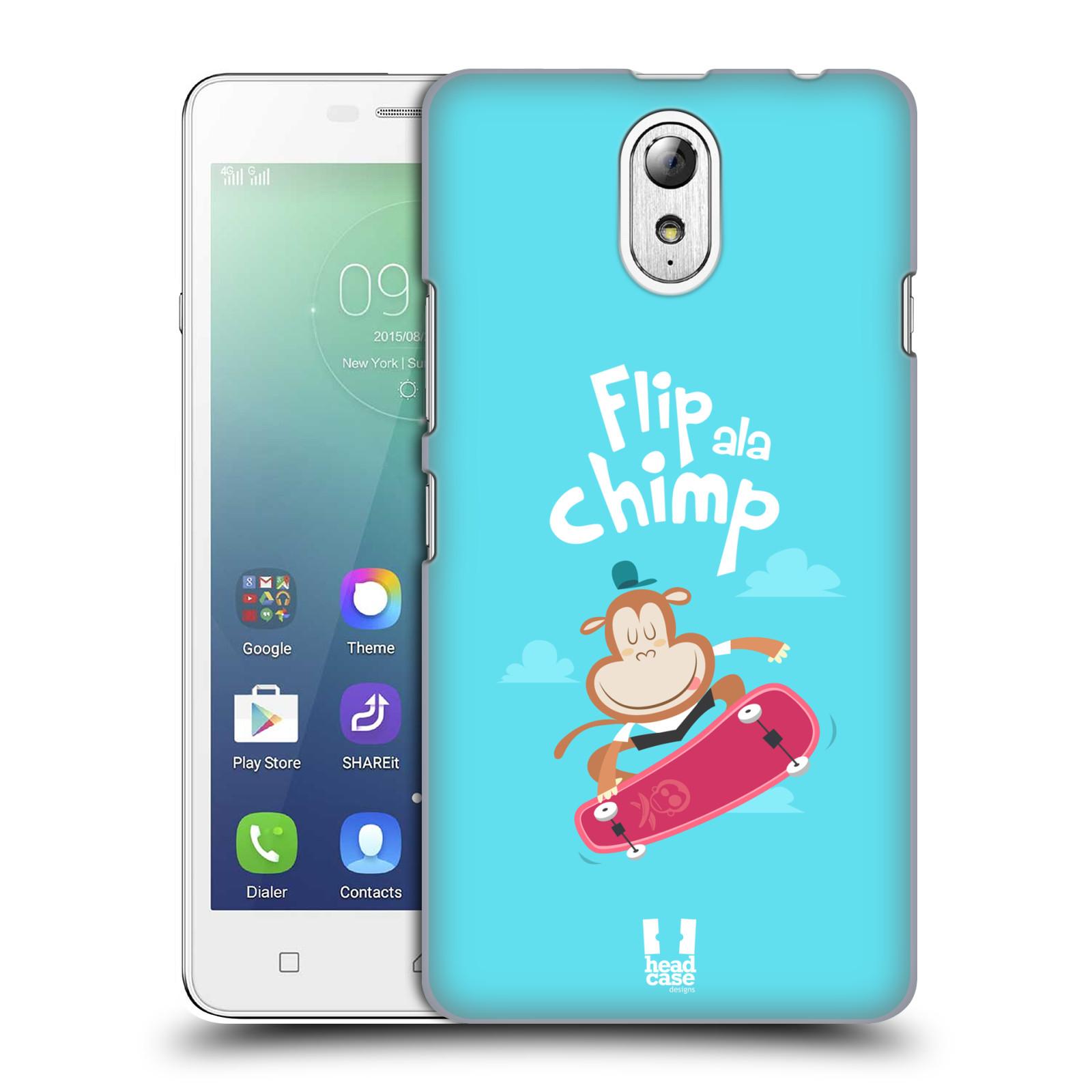 HEAD CASE pevný plastový obal na mobil LENOVO VIBE P1m / LENOVO VIBE p1m DUAL SIM vzor Zvířátka atleti opice