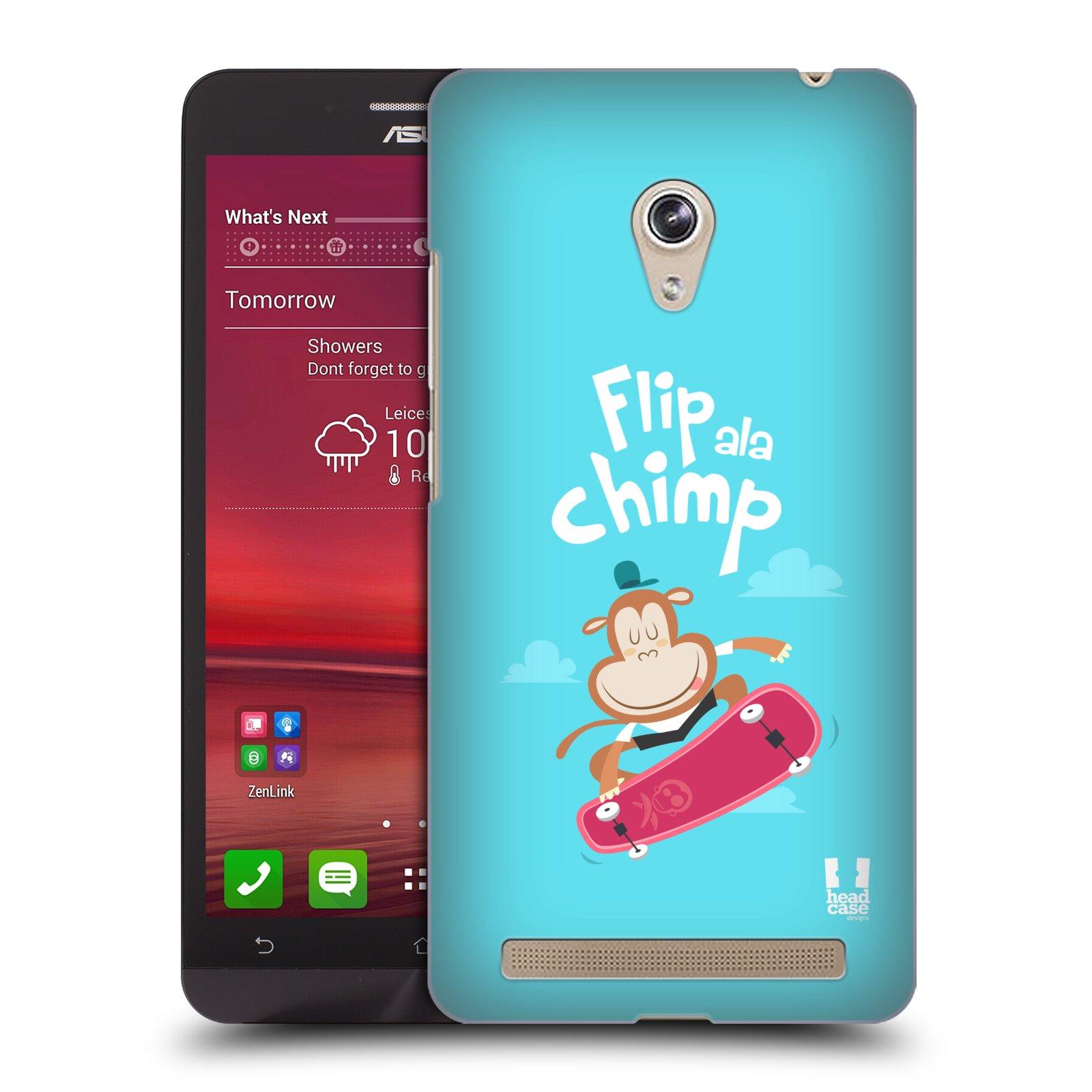 HEAD CASE plastový obal na mobil Asus Zenfone 6 vzor Zvířátka atleti opice