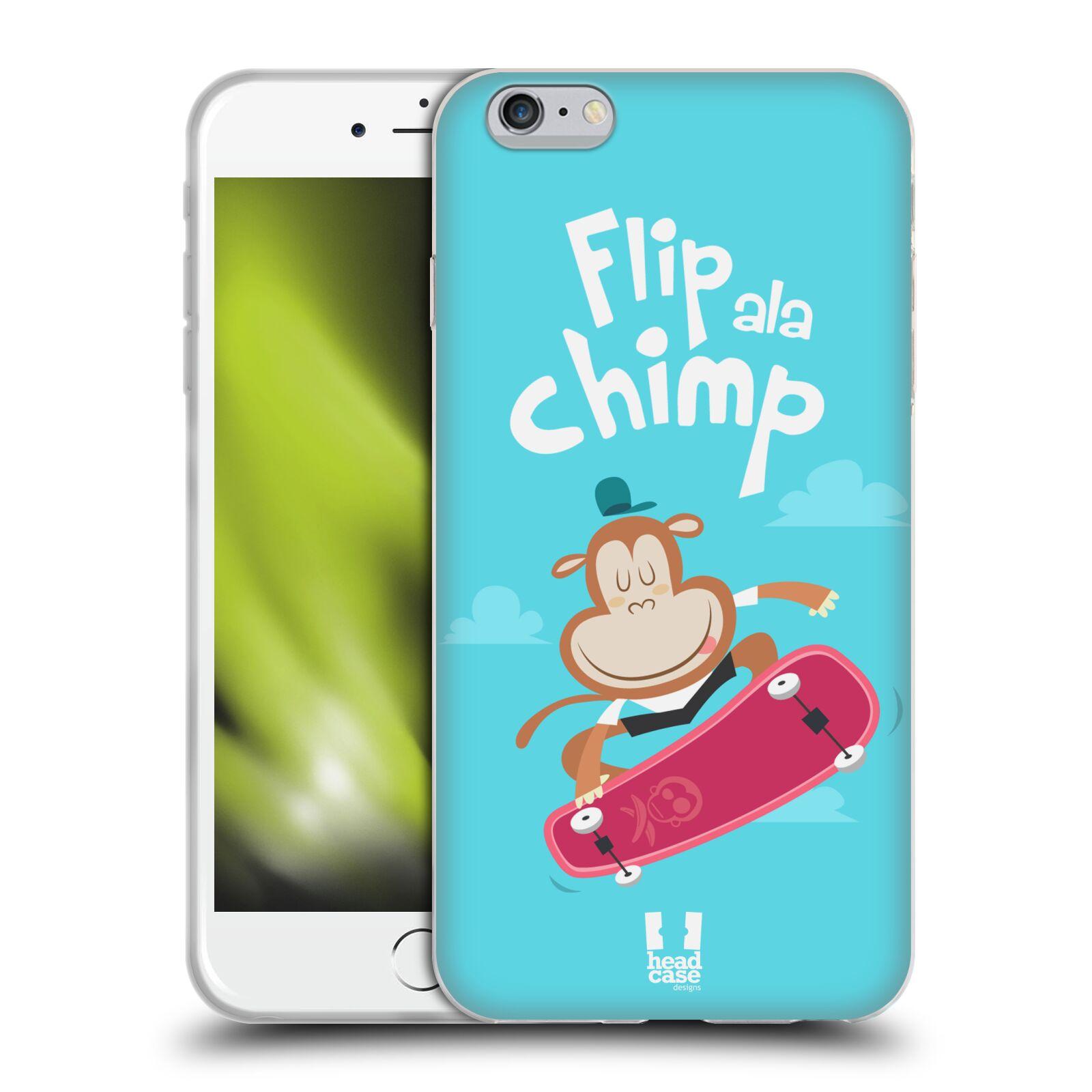 HEAD CASE silikonový obal na mobil Apple Iphone 6 PLUS/ 6S PLUS vzor Zvířátka atleti opice
