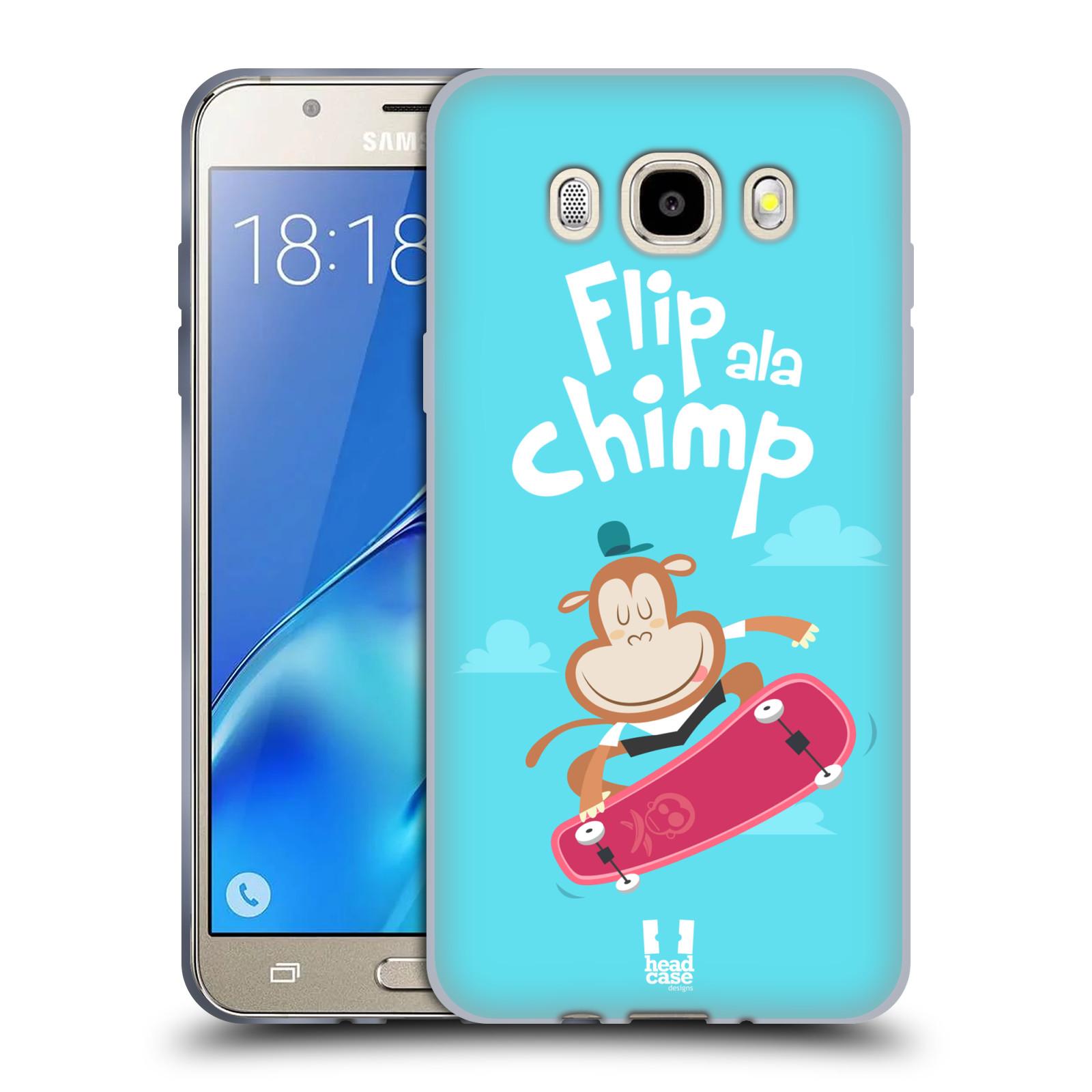 HEAD CASE silikonový obal, kryt na mobil Samsung Galaxy J5 2016, J510, J510F, (J510F DUAL SIM) vzor Zvířátka atleti opice