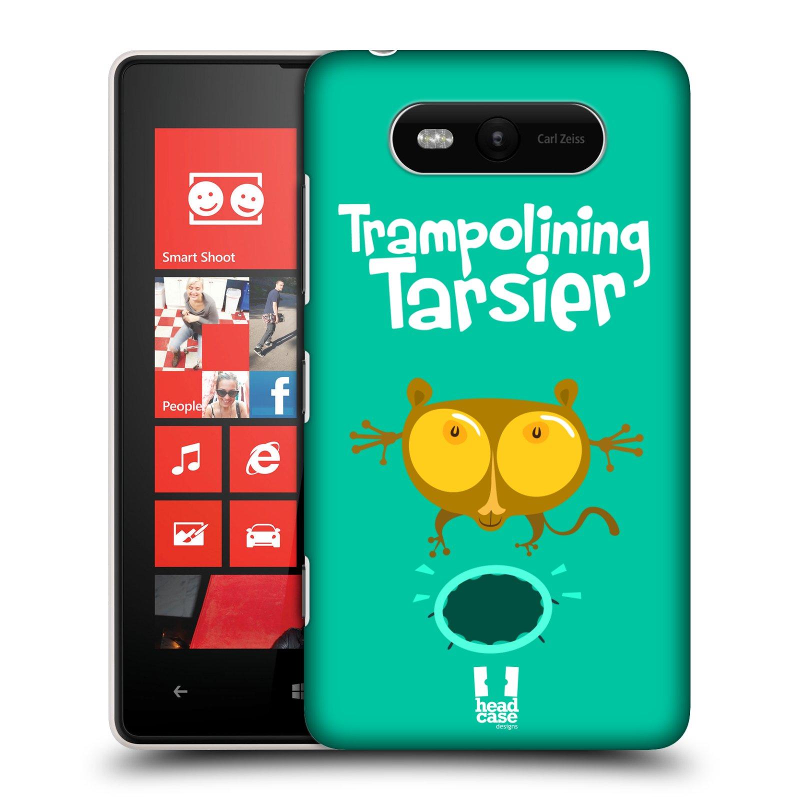 Plastové pouzdro na mobil Nokia Lumia 820 HEAD CASE SPORTOVEC NÁRTOUN (Kryt či obal na mobilní telefon Nokia Lumia 820)